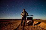 Argentina, Jujuy Prov, Night Walk Salar De Olaroz, 2010, IMG 4953