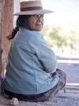 Argentina, Jujuy Prov, Susques Indian Woman, 2010, IMG 5053