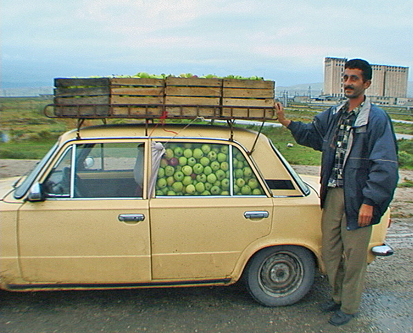 Azerbaijan, Apples In Car, 2000