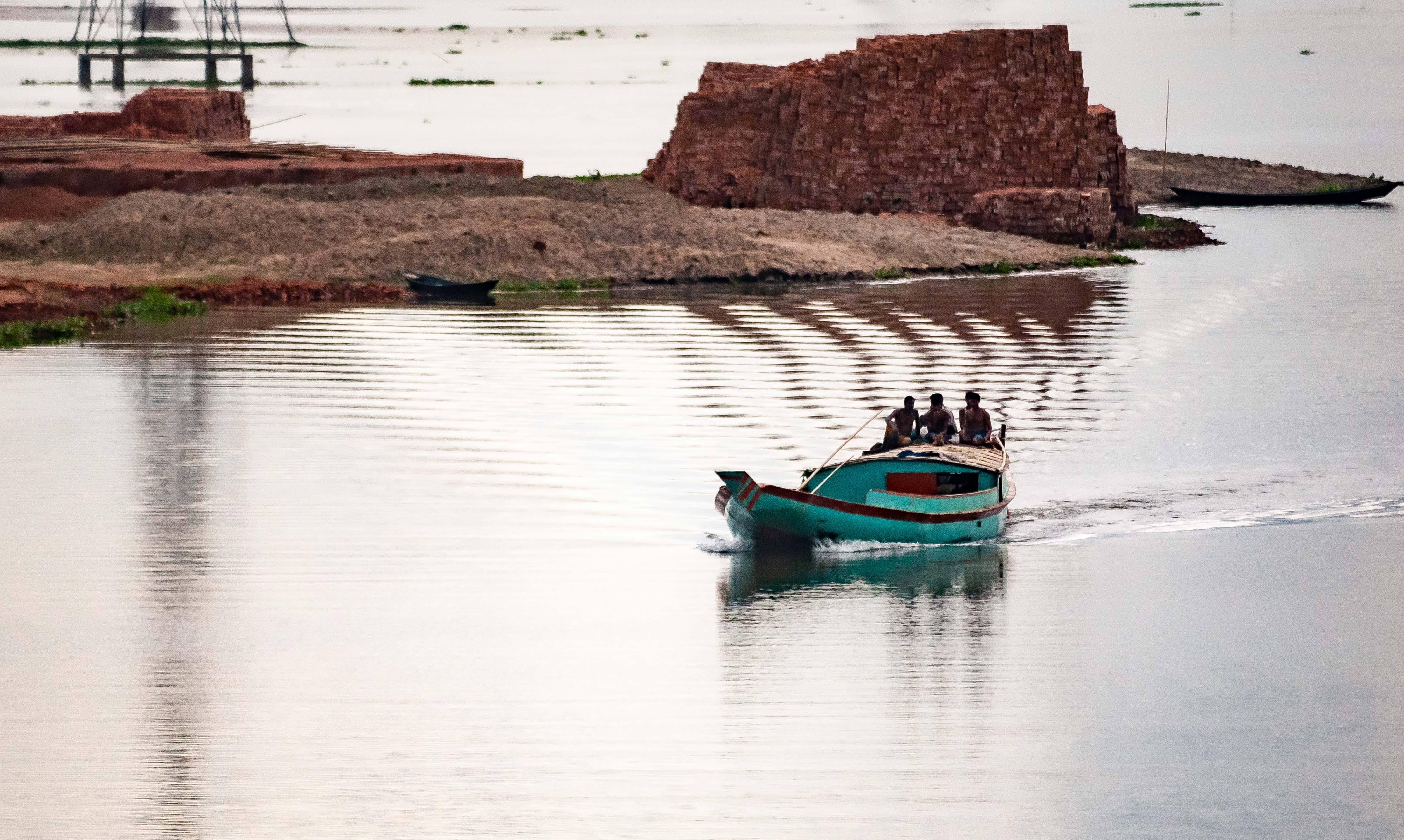 Bangladesh, Brahmanbaria Prov, River Boat, 2009, IMG 8519