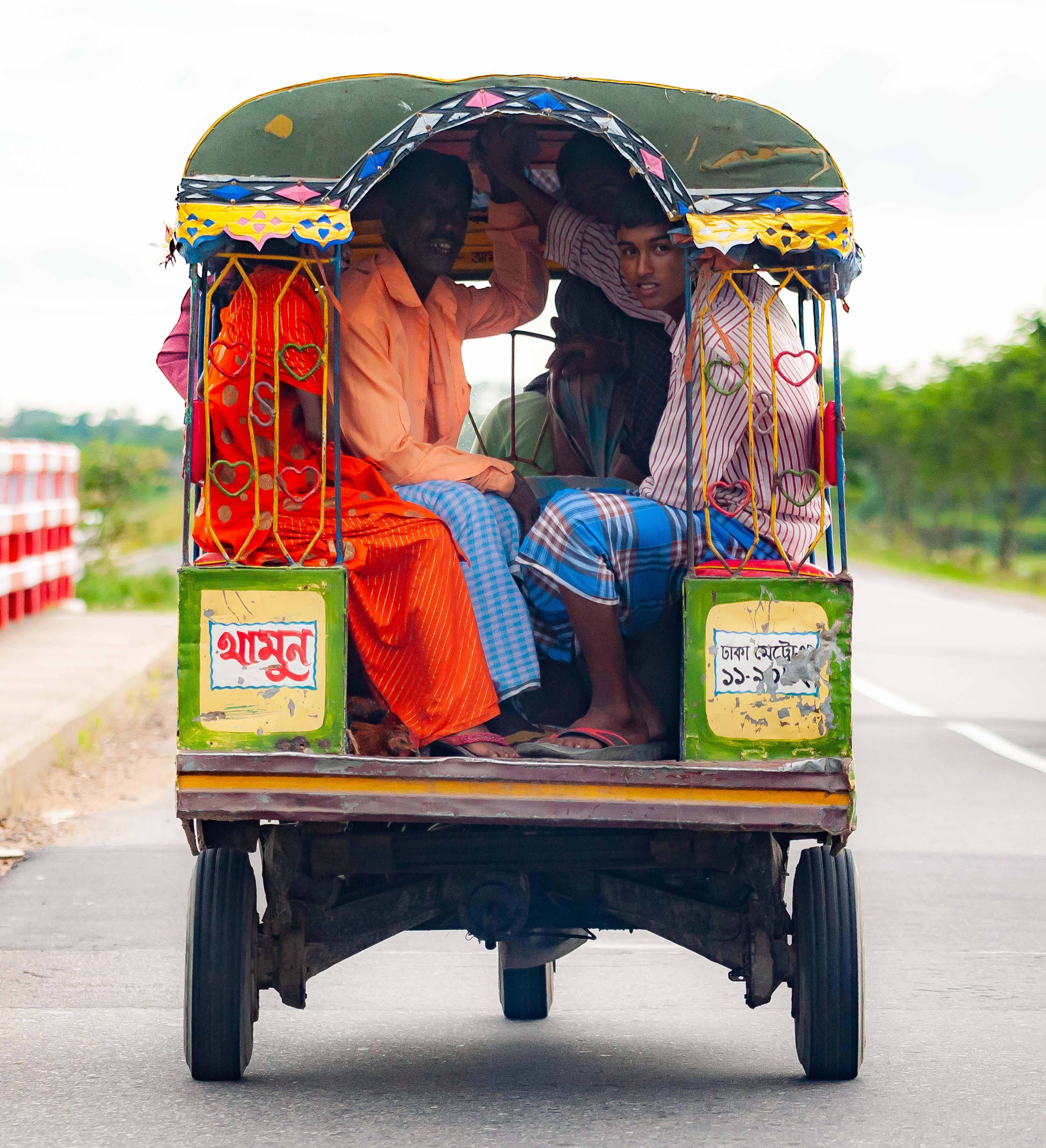 Bangladesh, Habiganj Prov, Motor Trishaw, 2009, IMG 8507