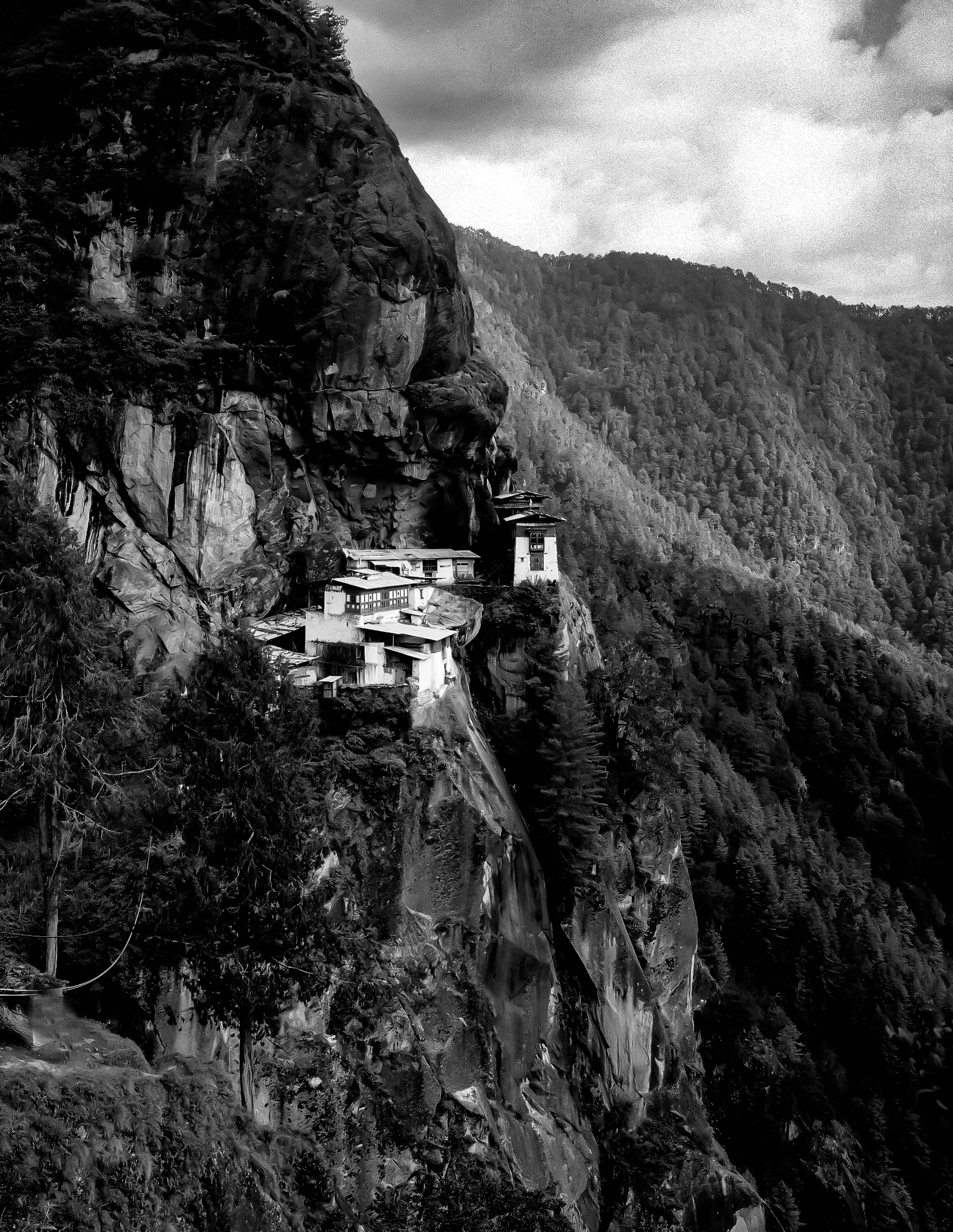 Bhutan, Tigers Nest Temple,1999