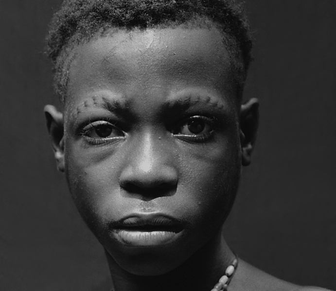 Central African Republic, Bayanga, Pygmy Portrait, 2000
