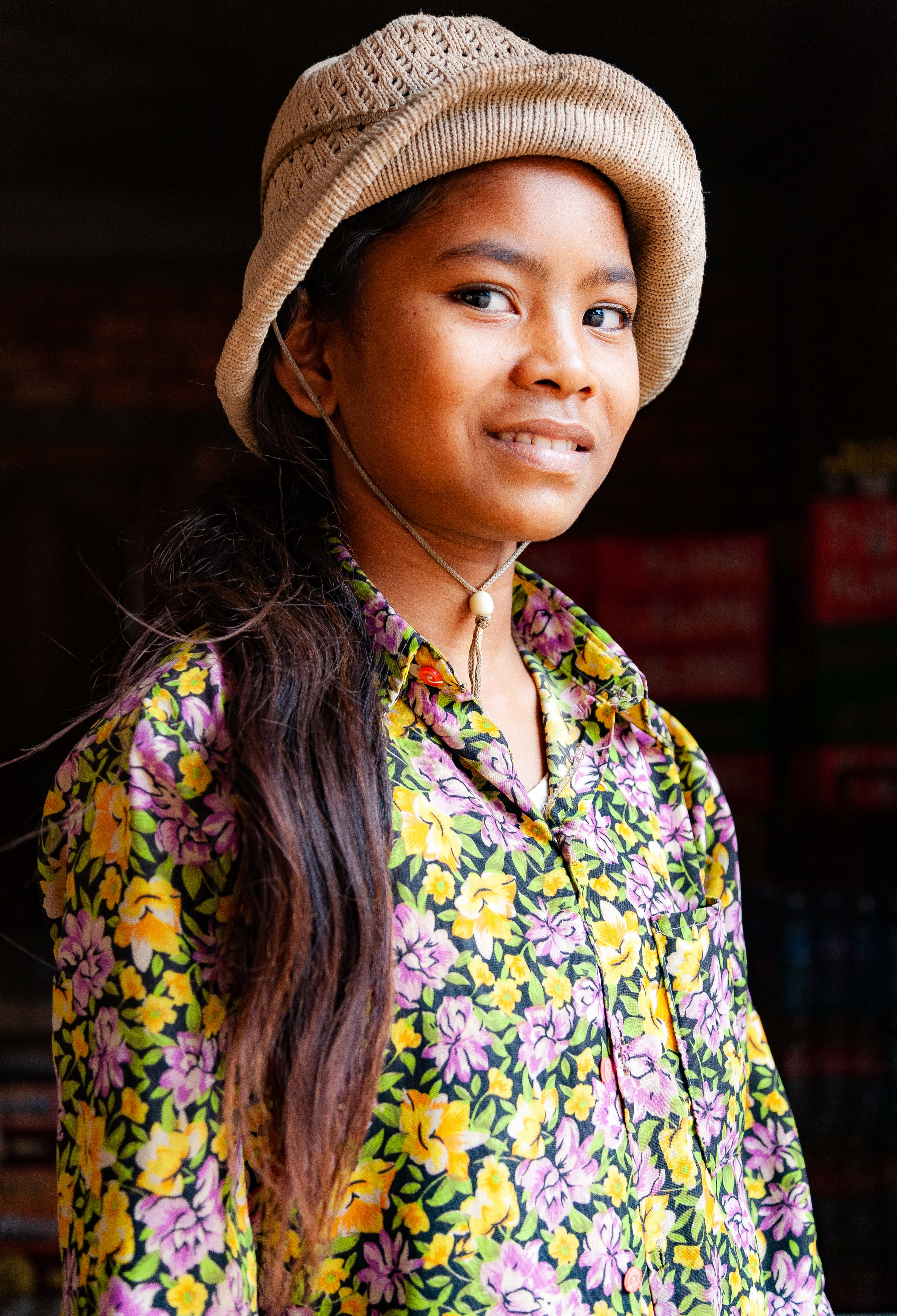 Cambodia, Kampong Thum Prov, Country Girl, 2010, IMG 5544