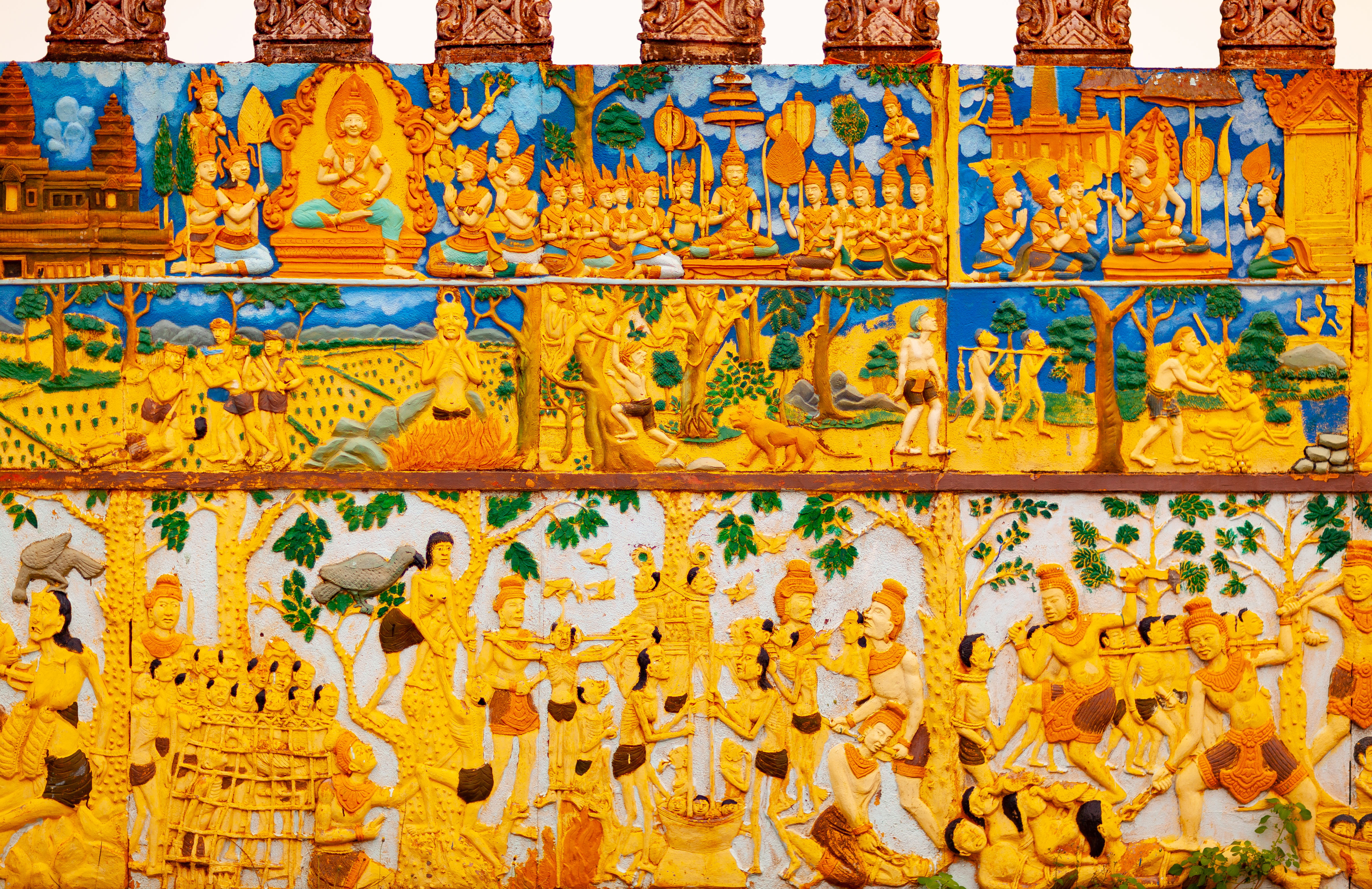 Cambodia, Krong Pailin Prov, Relief Of Cruelty, 2009, IMG 9788
