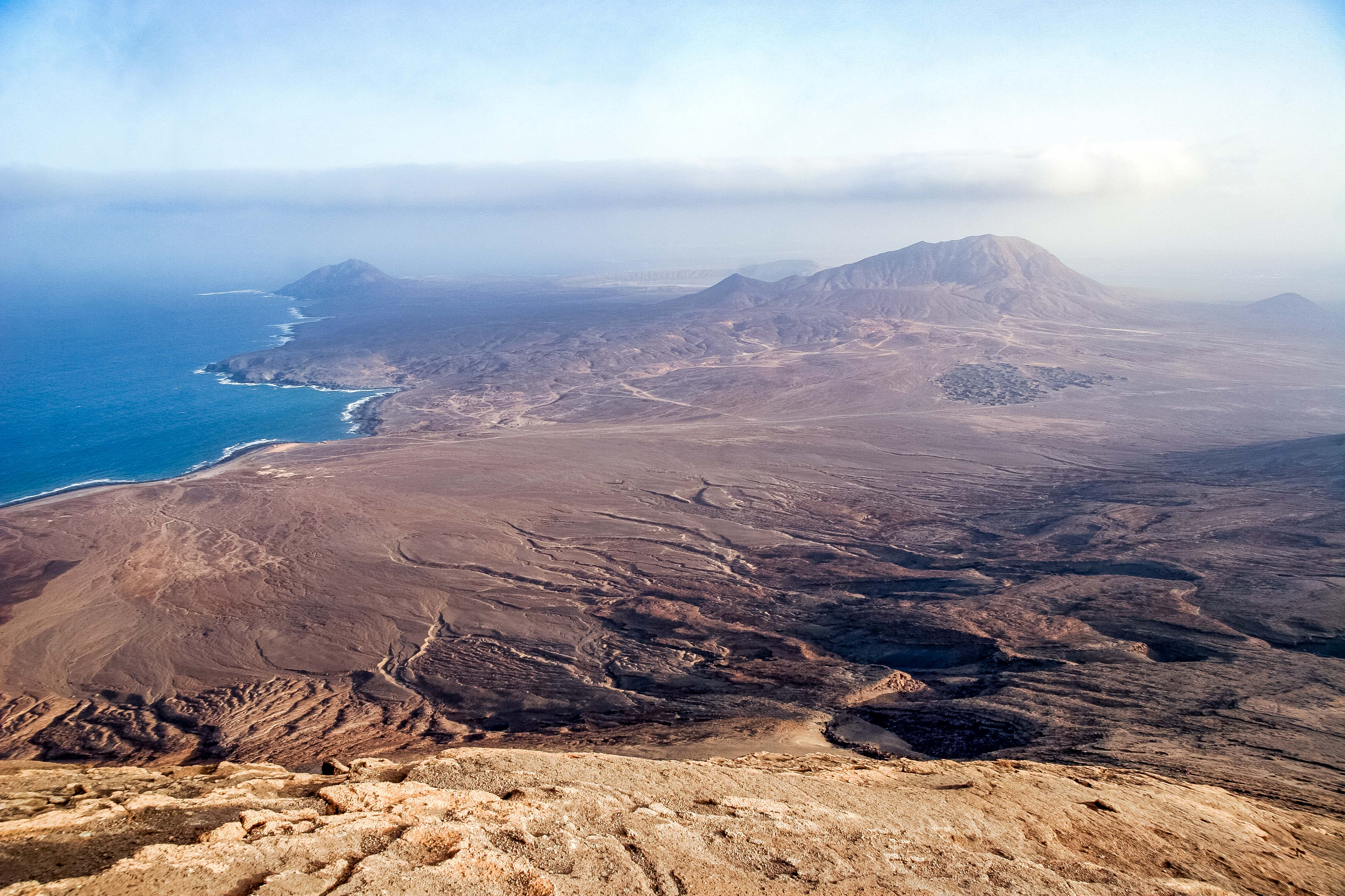 Cape Verde, Sal, View From Monte Grande, 2006