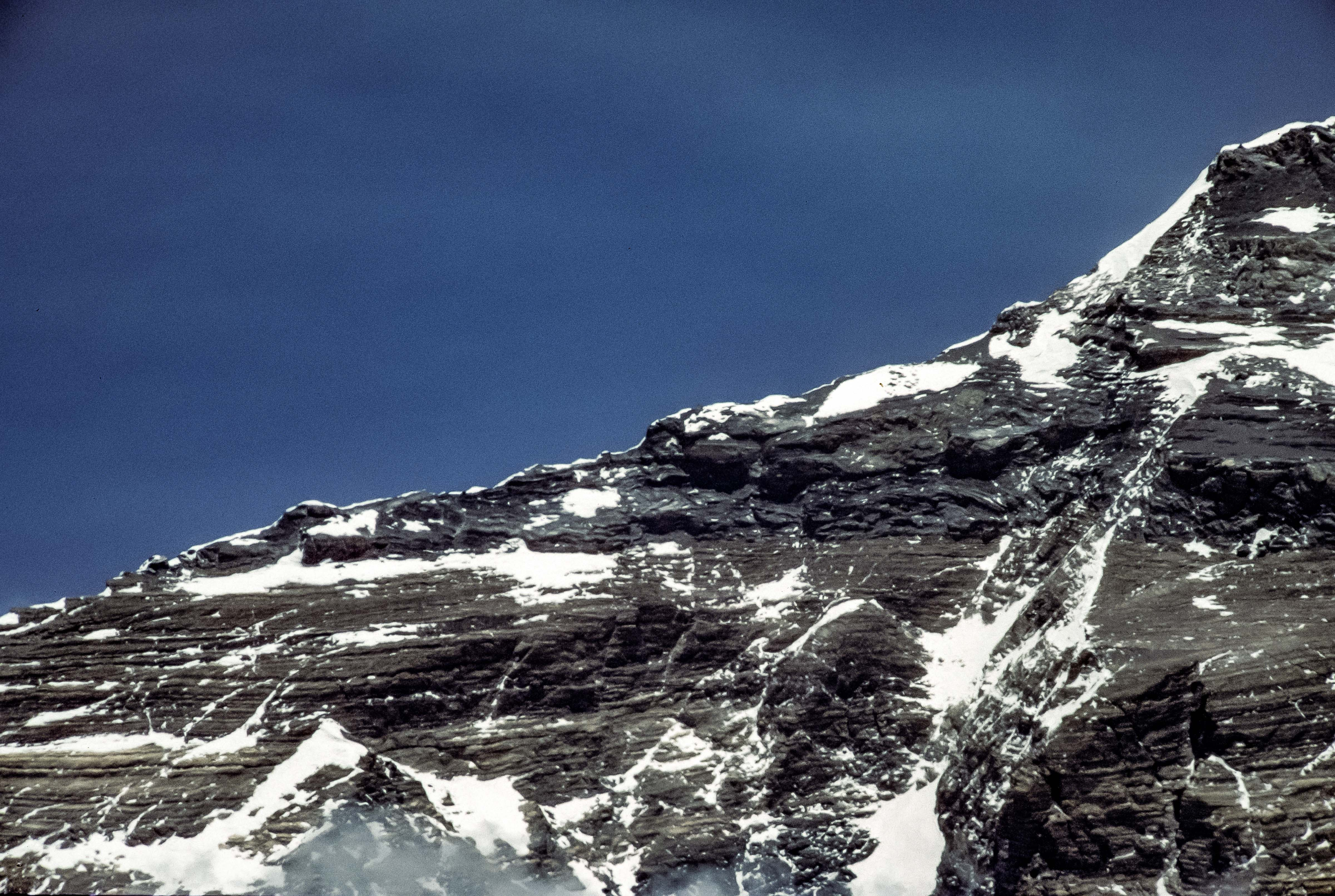 China, Xizang (Tibet) Prov, Everest North Ridge In Spring, 1995, 35mmSlide