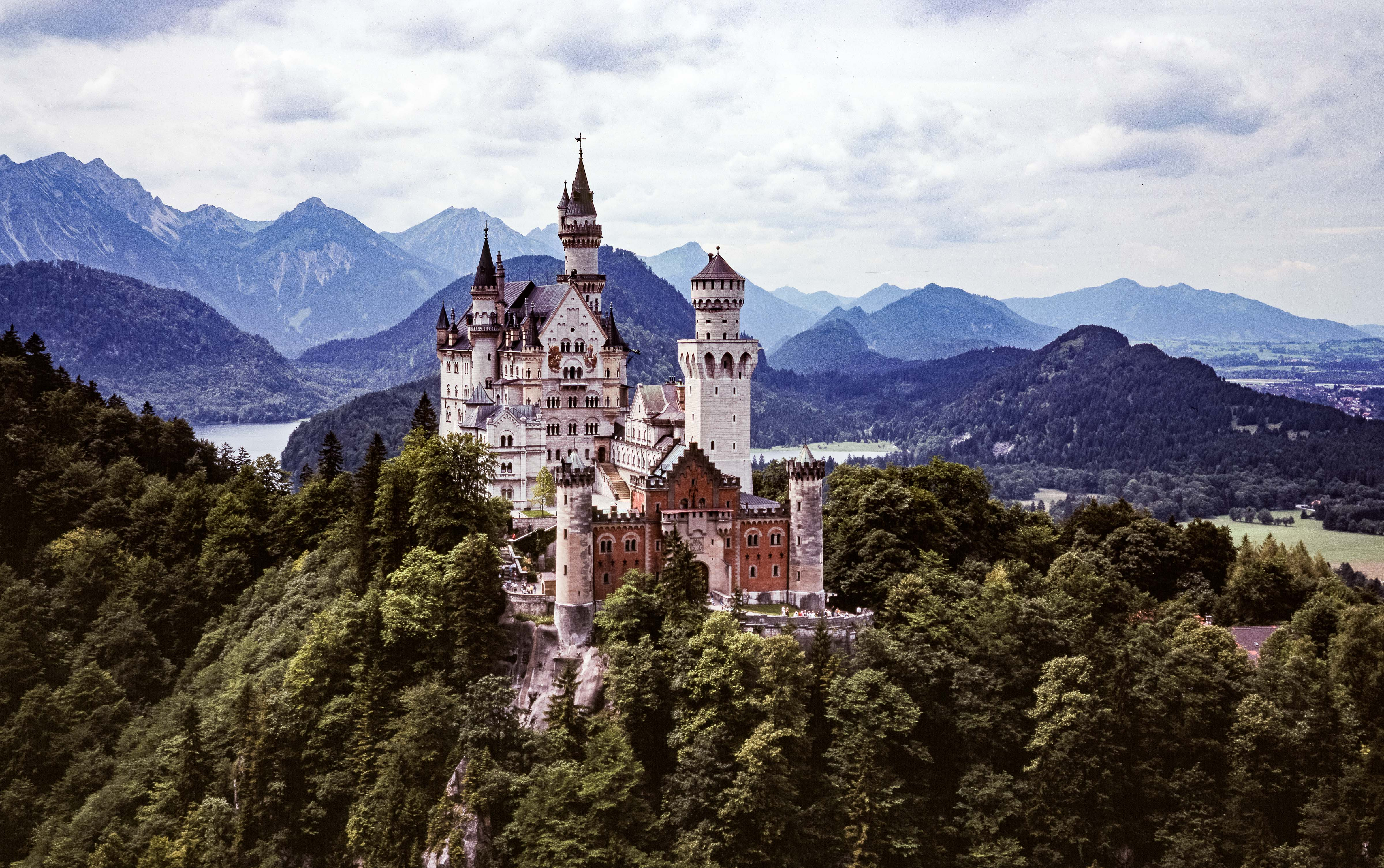 Germany, Neuschwanstein, 1990