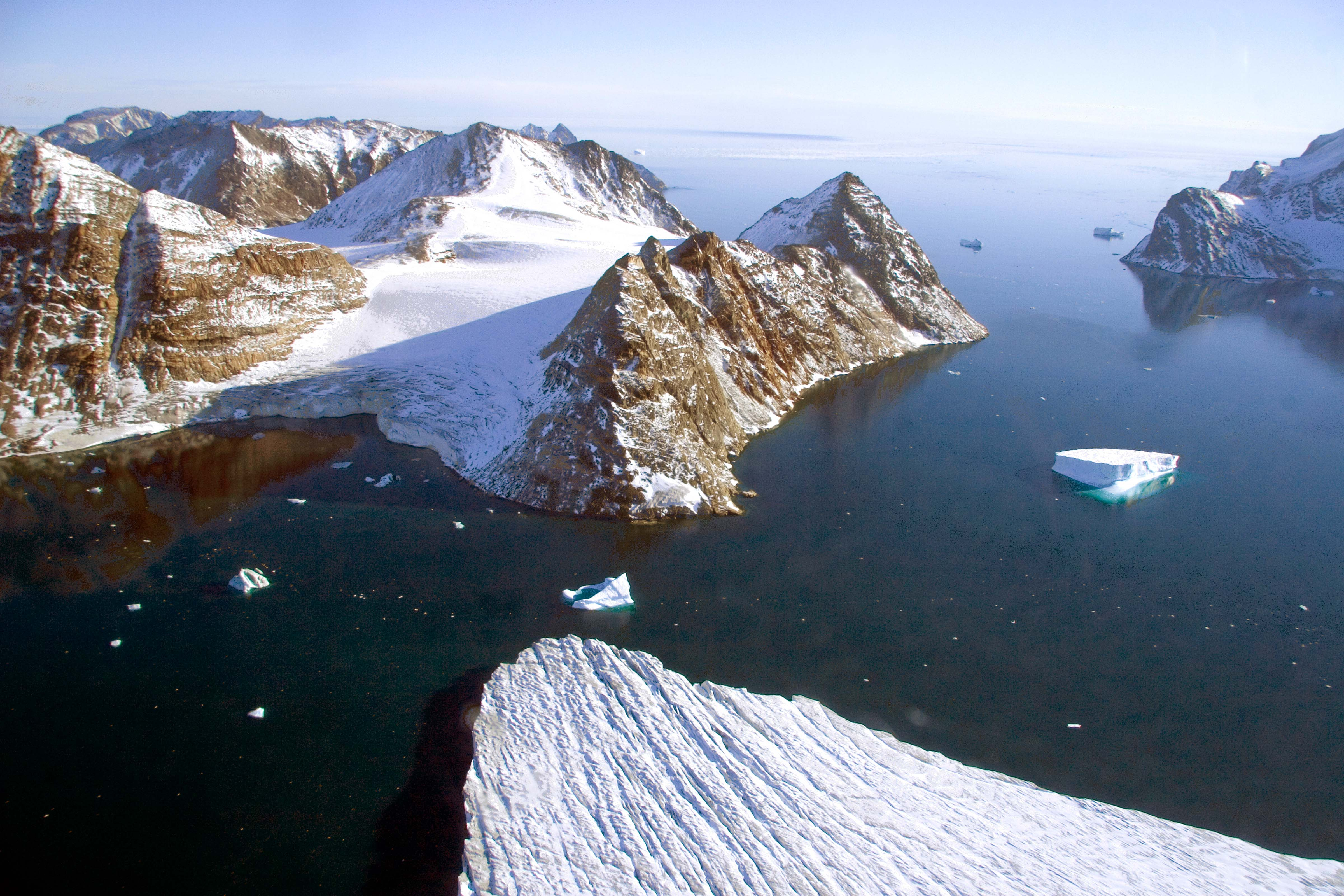 Greenland, Warming Island, Broken Channel, 2006