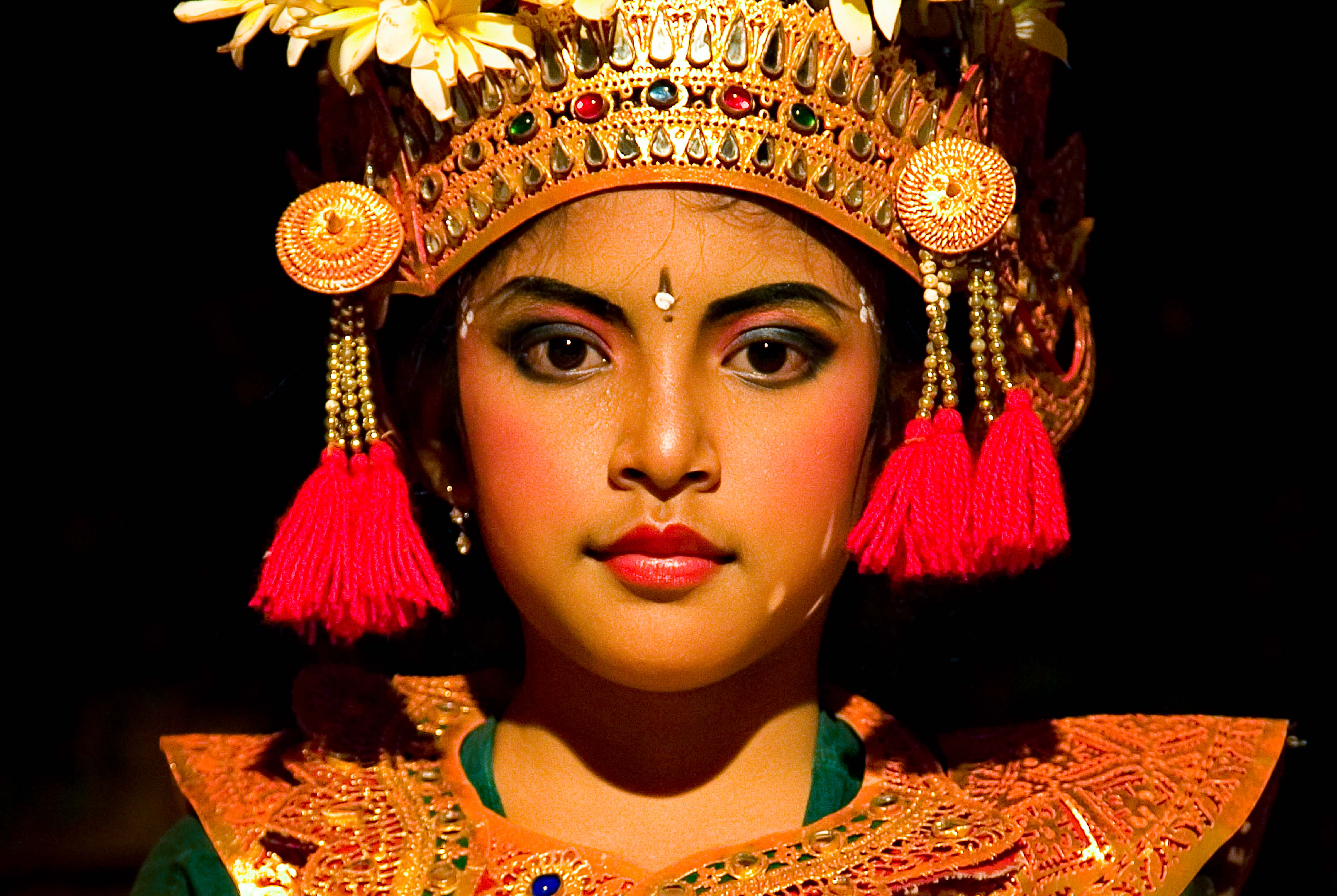 Indonesia, Bali, Young Dancer, 2005