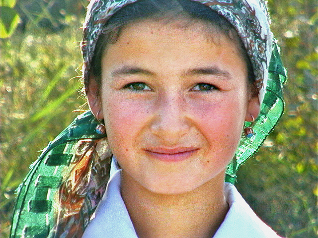 Iraq, Portrait Of A Girl, 2000