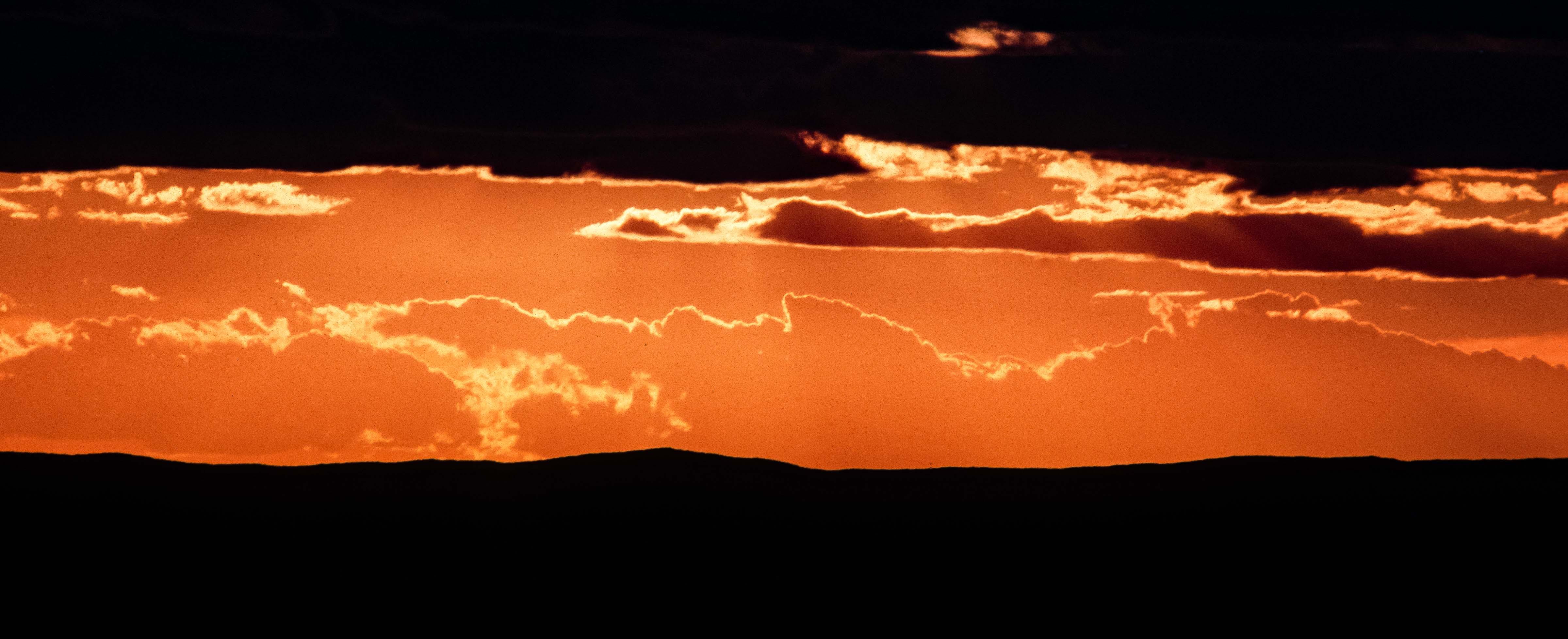 Kazakhstan, Sunset, 1998