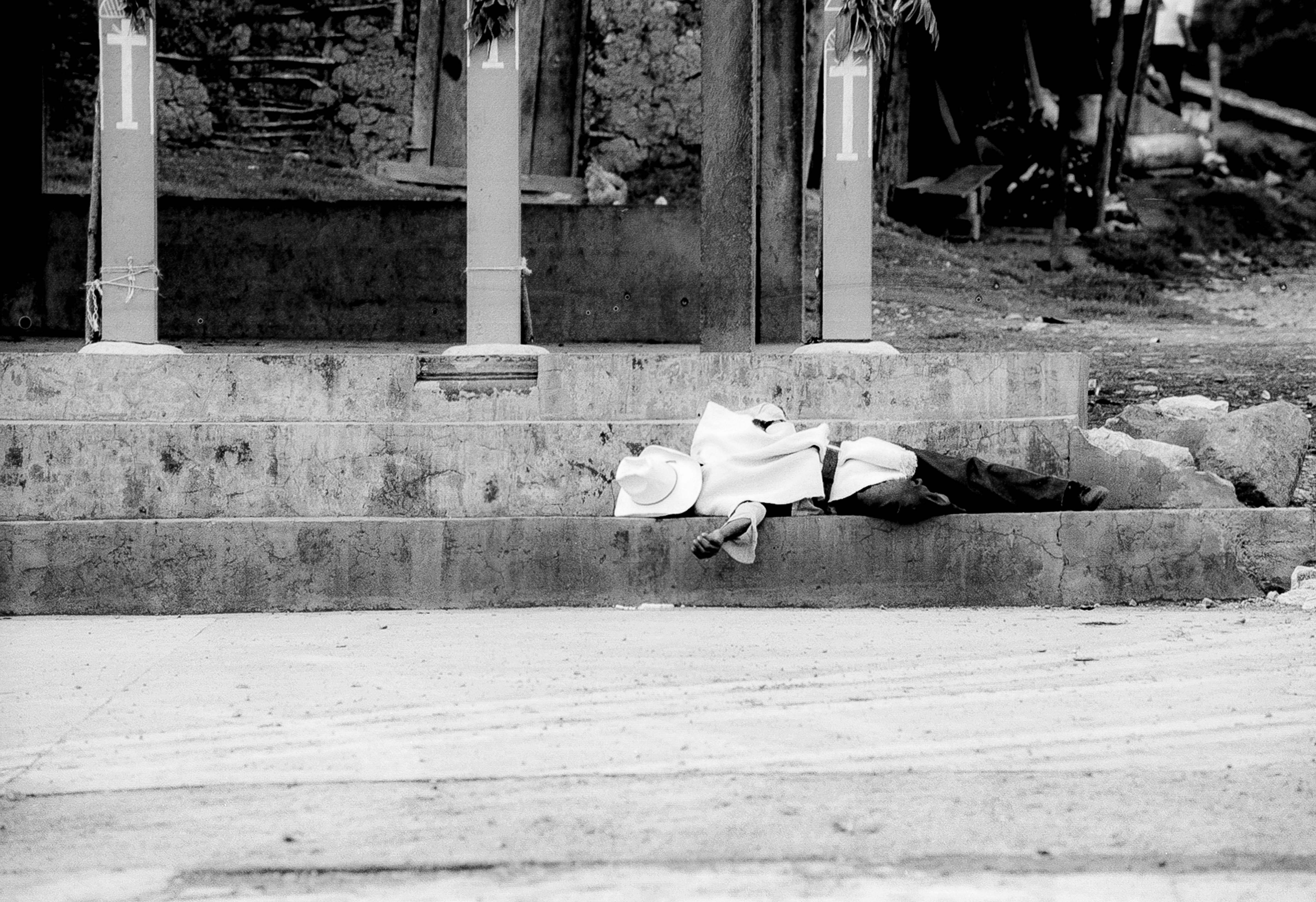 Mexico, Sleeping On The Stairs, 1993