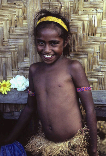 Papua New Guinea, Manus Girl, 1983