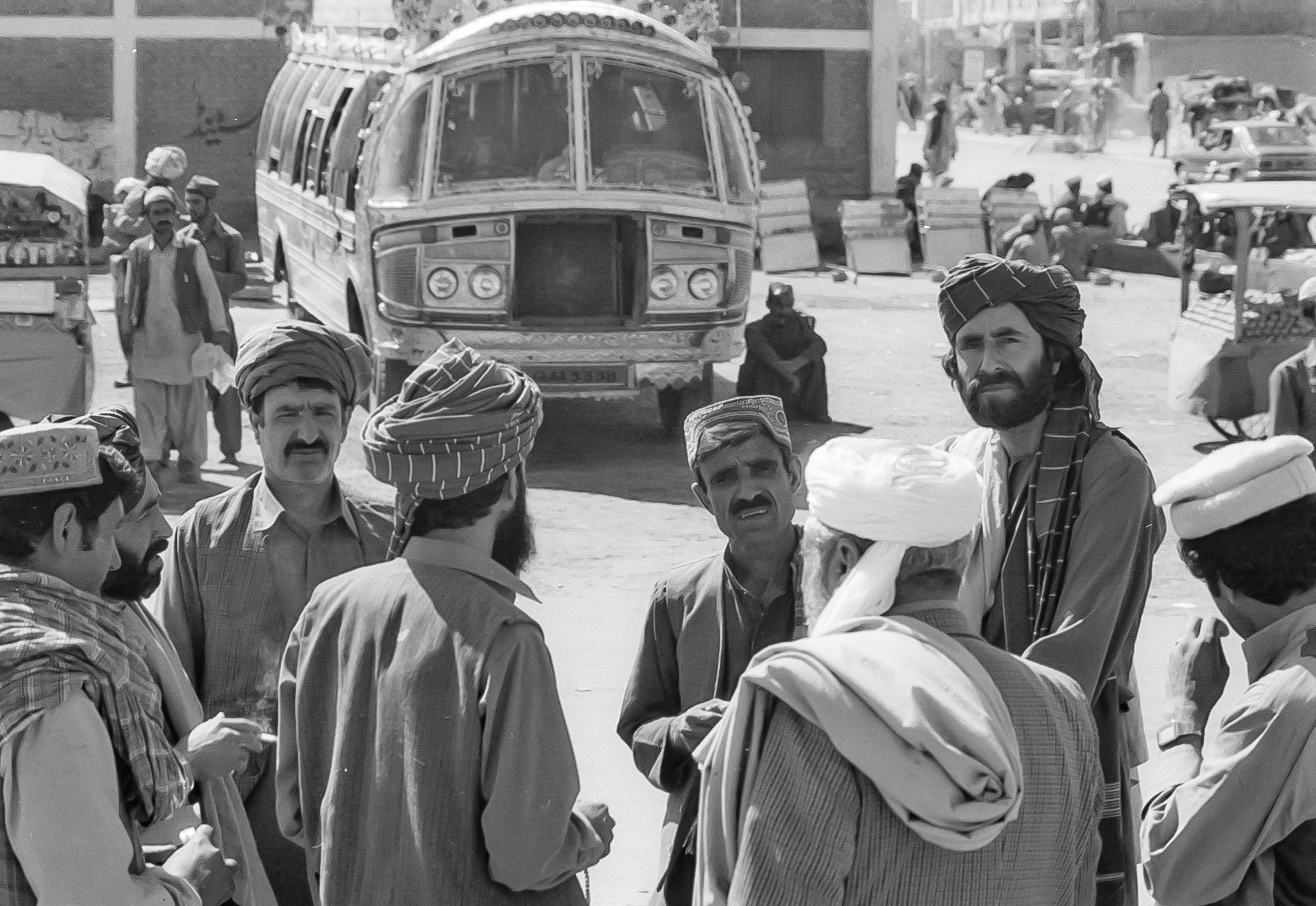 Pakistan, Forty-Eight Hour Bus Ride From Quetta To Iran Border, 1984