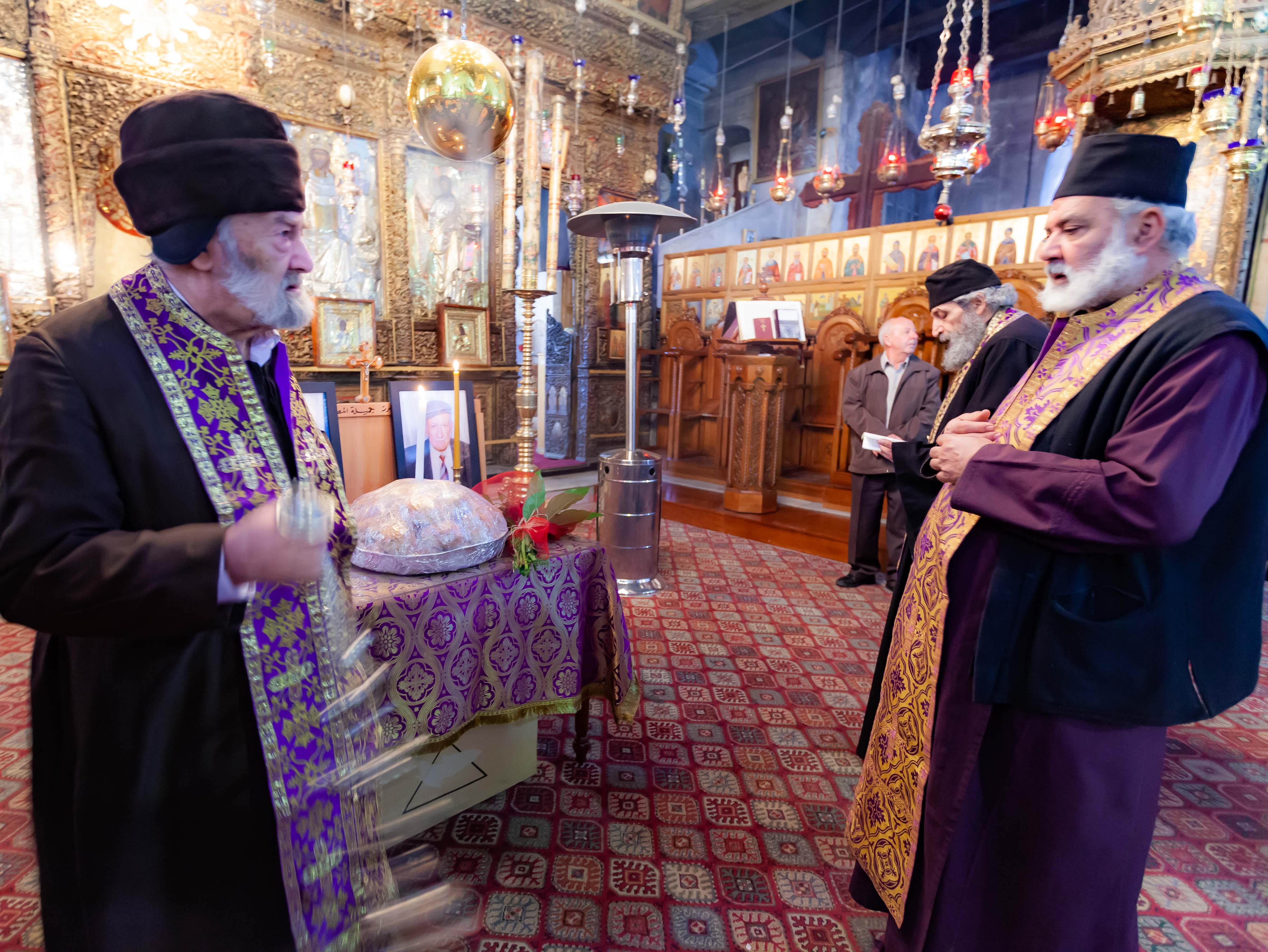 Palestine, Bethlehem, Church of the Nativity Rabbis, 2012, IMG 6702