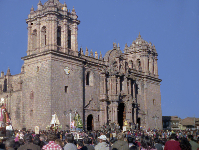 Peru, Cuzco, Church of the Jesuits, Lord of The Earthquakes Festival, 1979 –