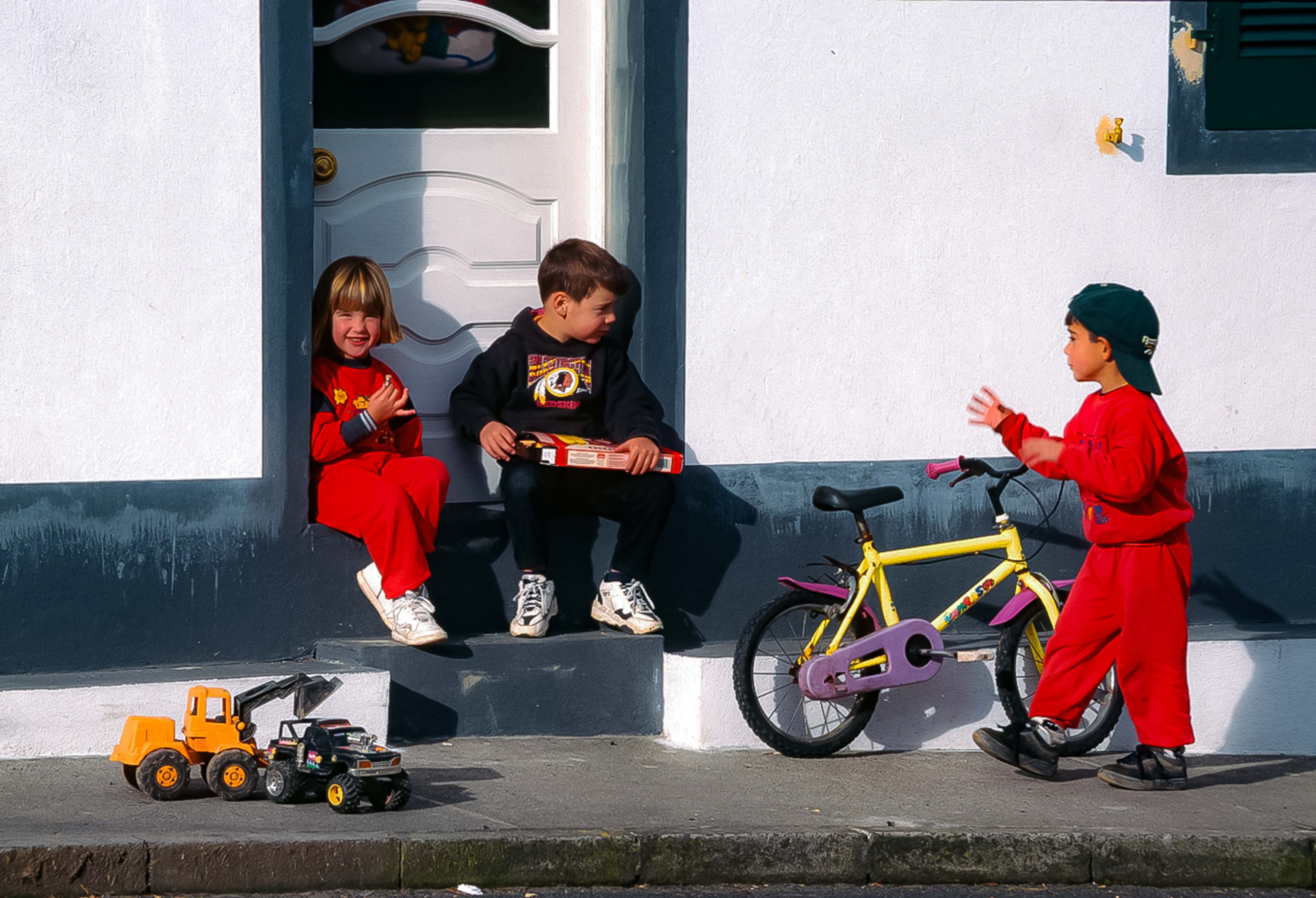 Portugal, Azores, Children, 2000