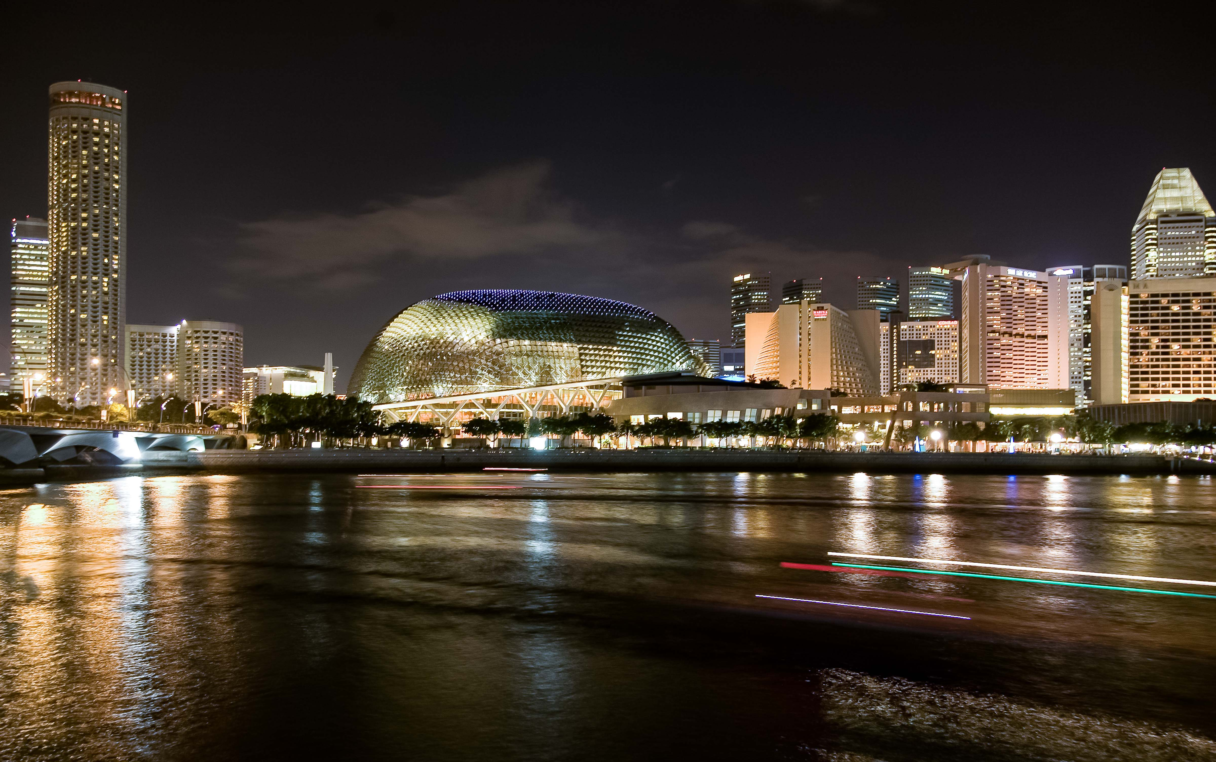 Singapore, Waterfront, 2007