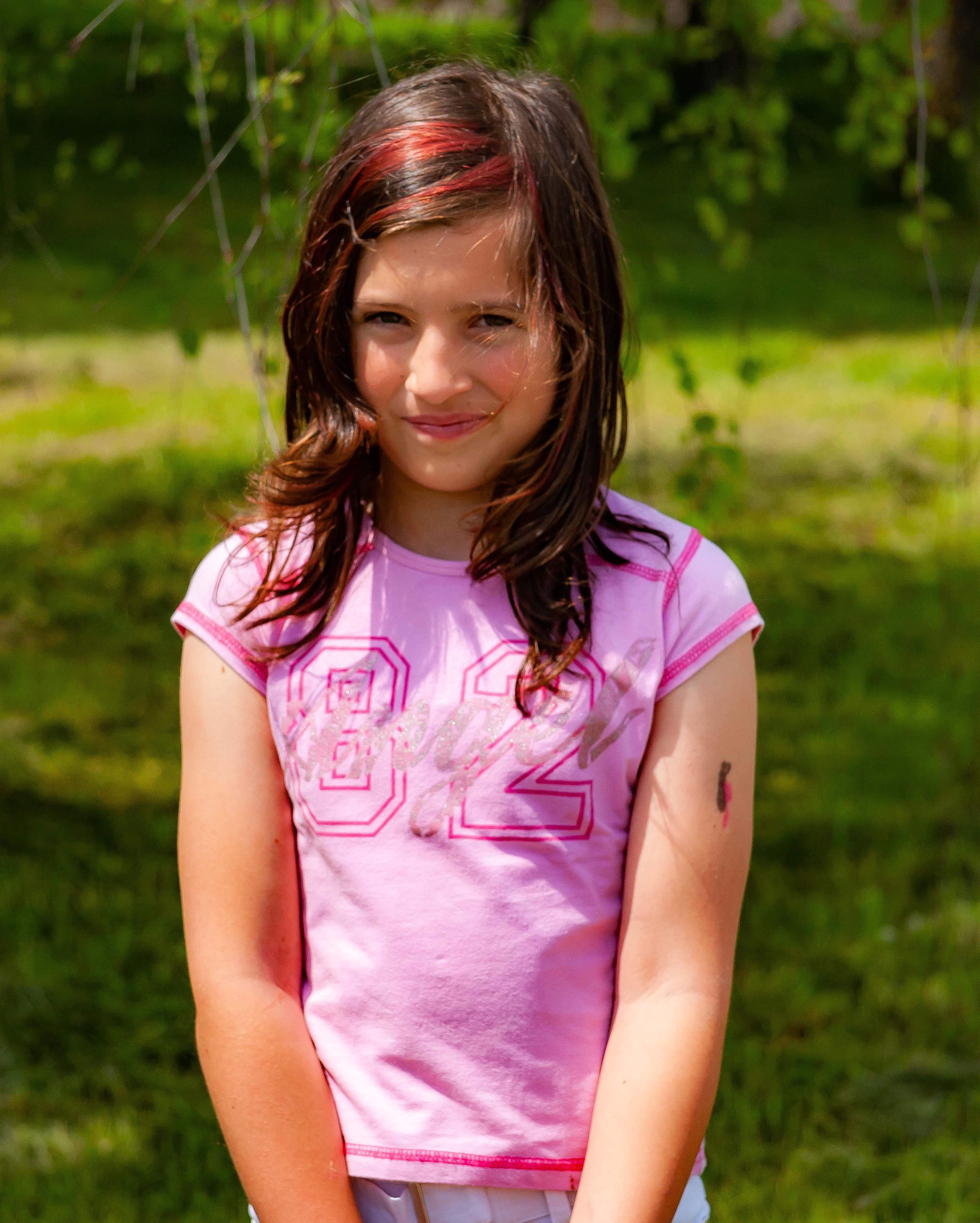 Slovenia, Dobrepolje Prov, Girl, 2006, IMG 7246