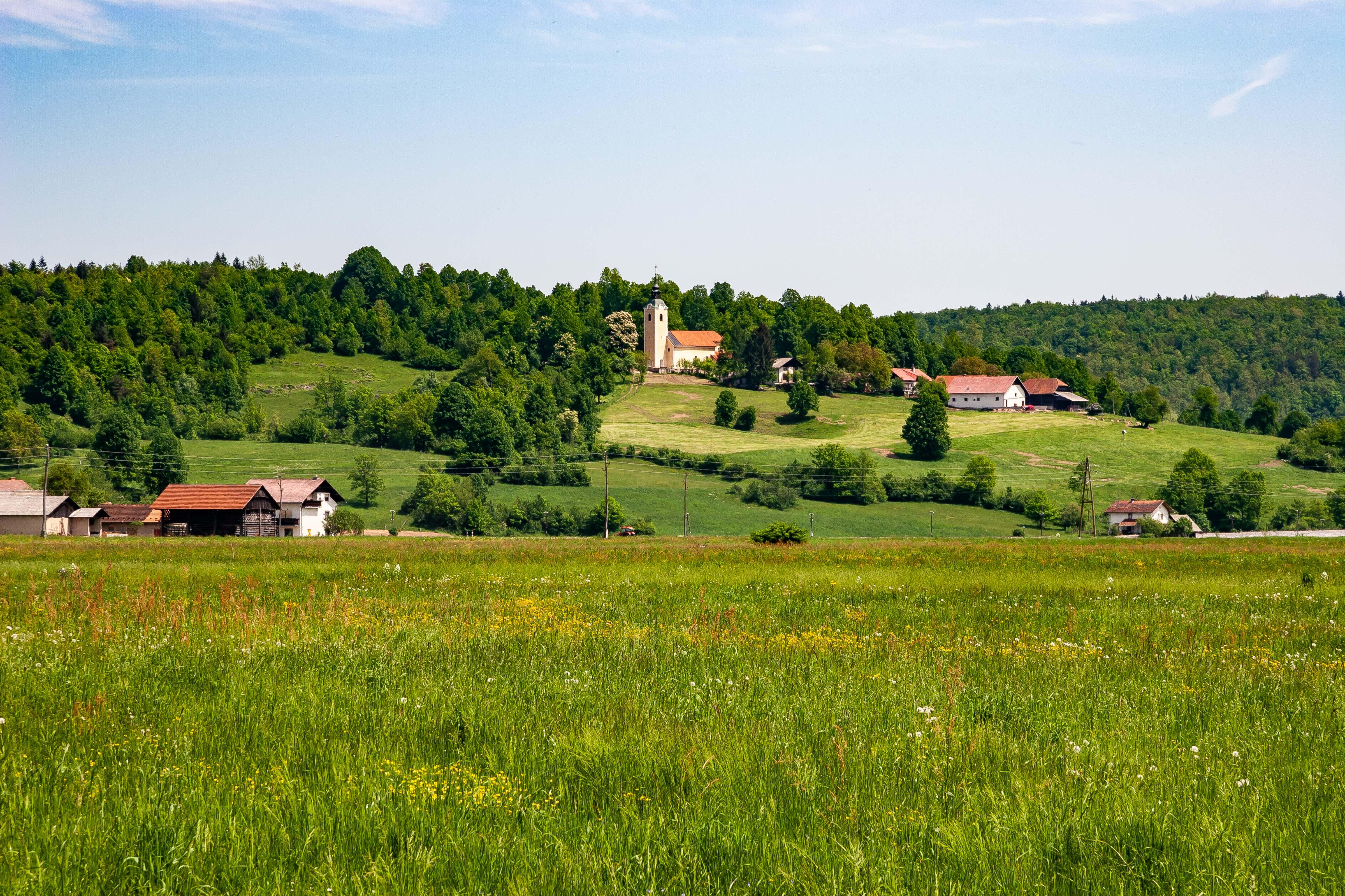 Slovenia, Dobrepolje Prov, Landscape, 2006, IMG 7226