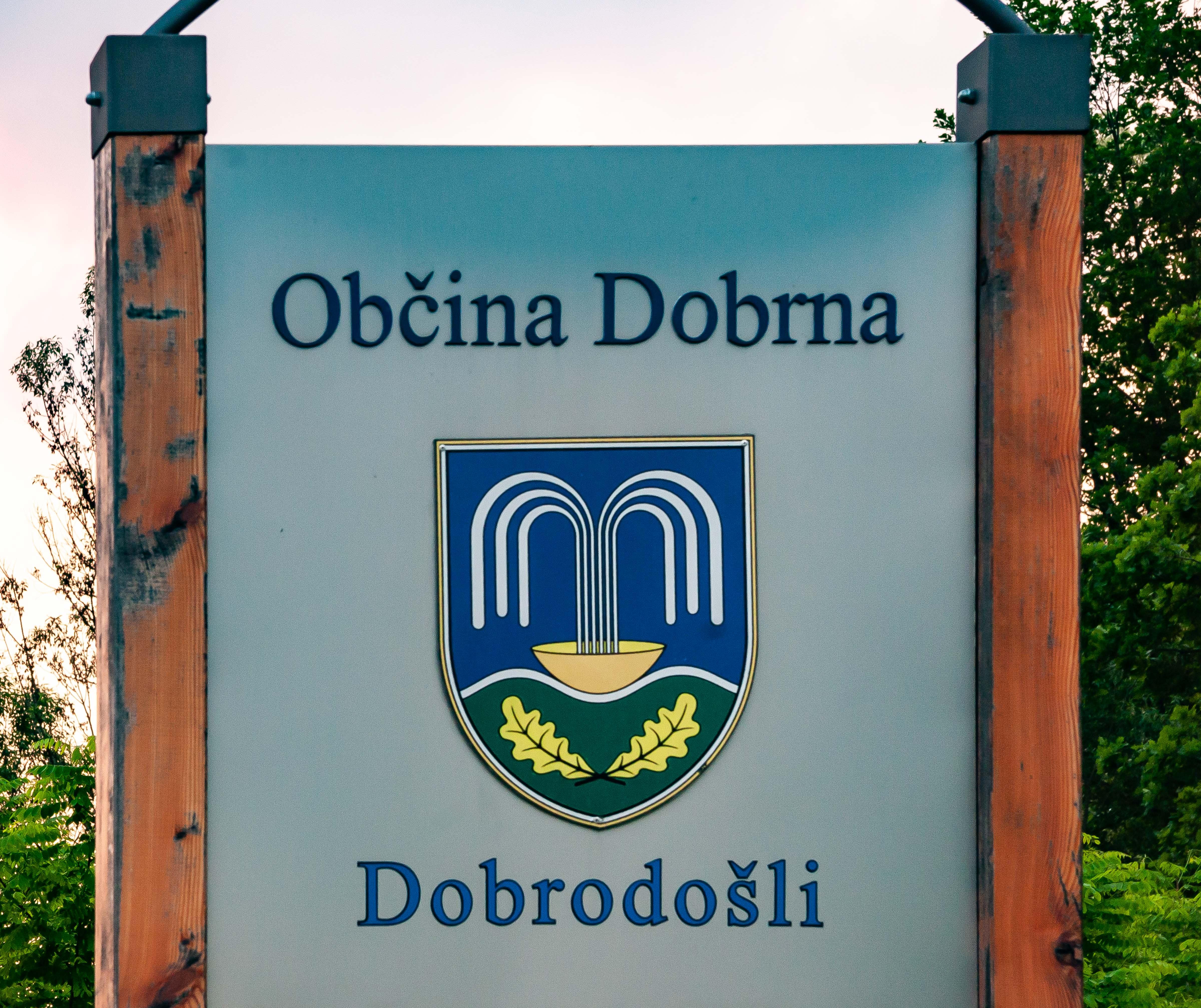 Slovenia, Dobrna Prov, Dobrodosli Obcina Dobrna, 2006, IMG 8062