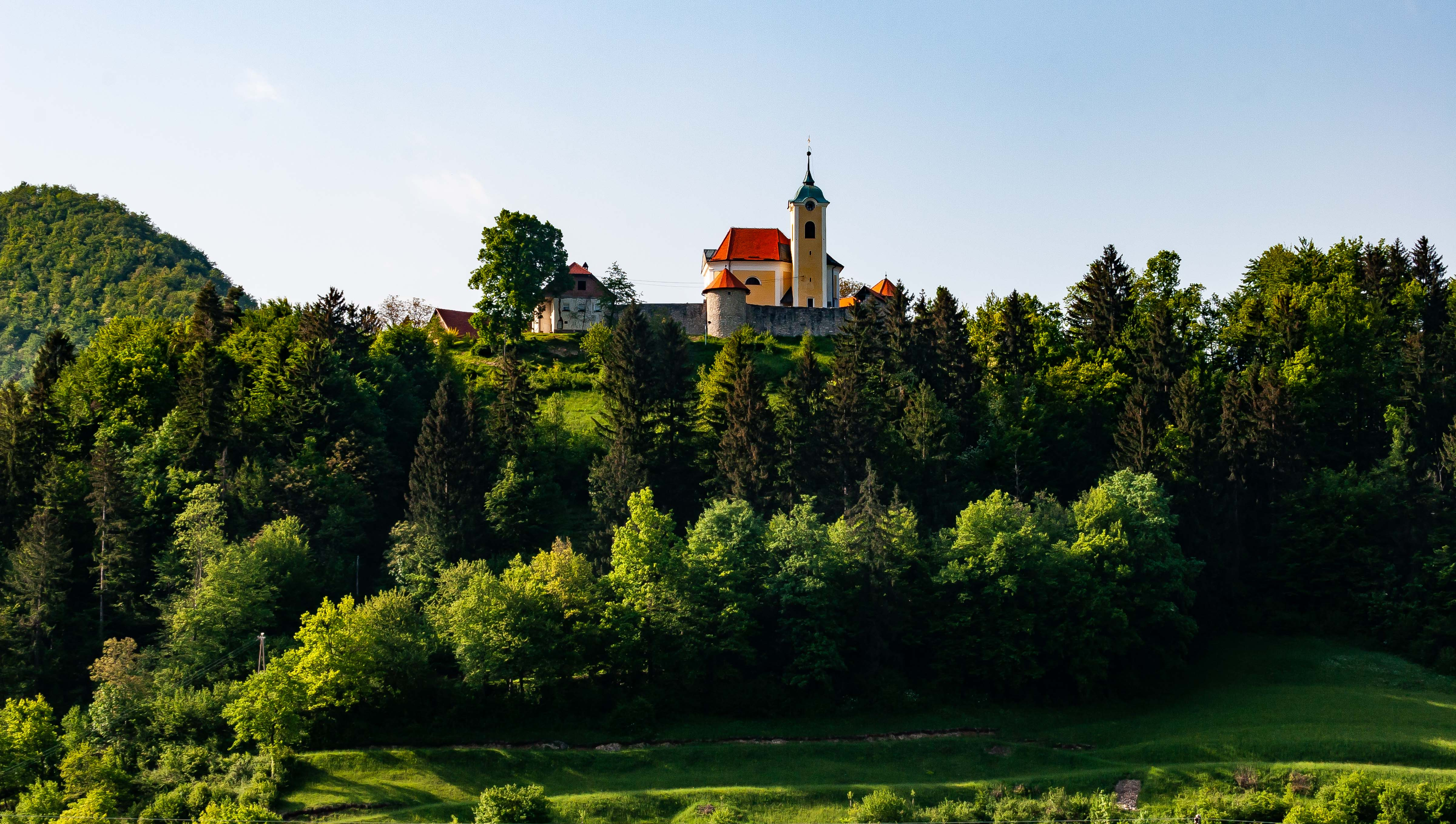 Slovenia, Horjul Prov, Church On A Hill, 2006, IMG 5840