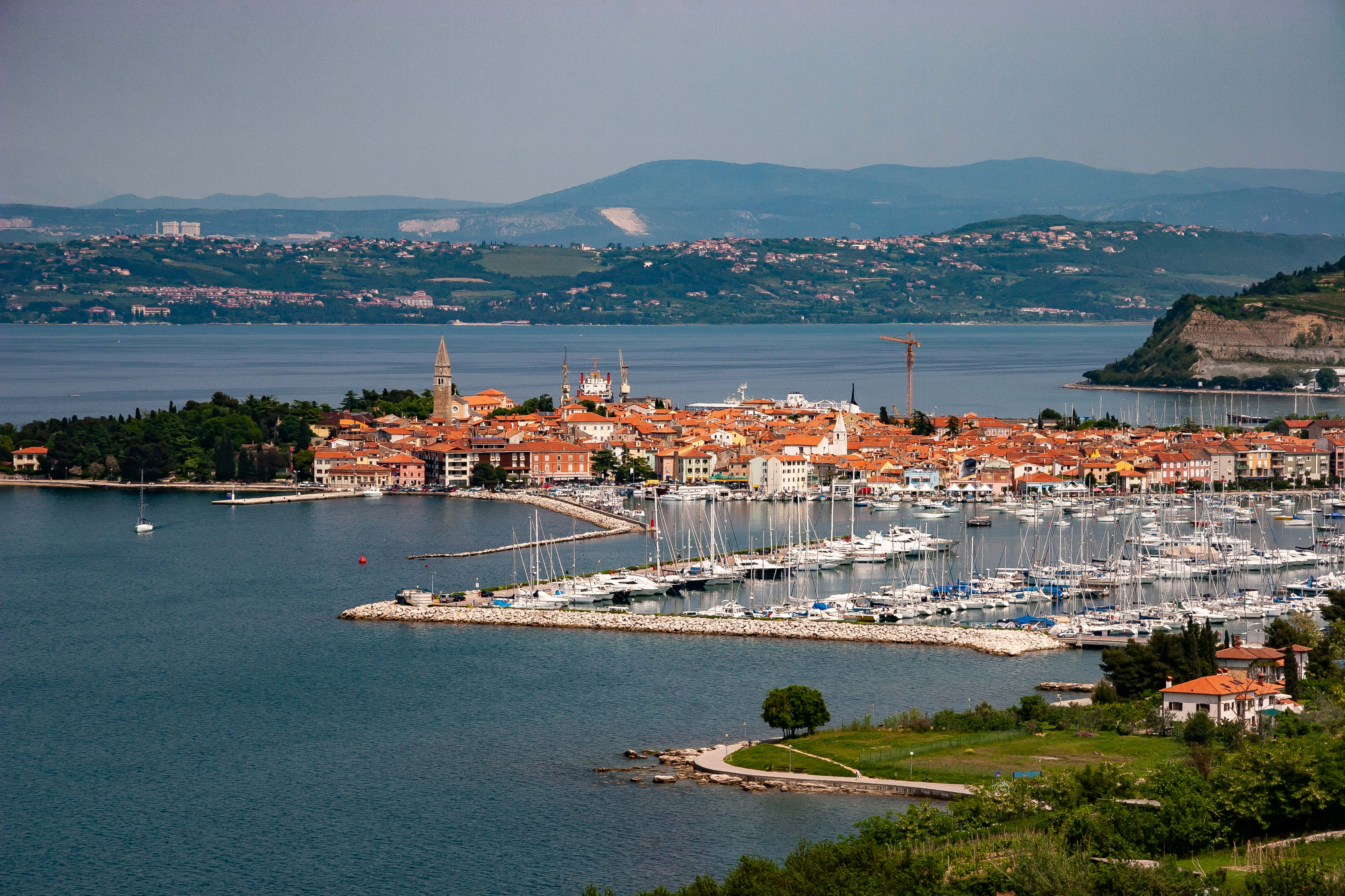 Slovenia, Izola Prov, City On Water, 2006, IMG 7048