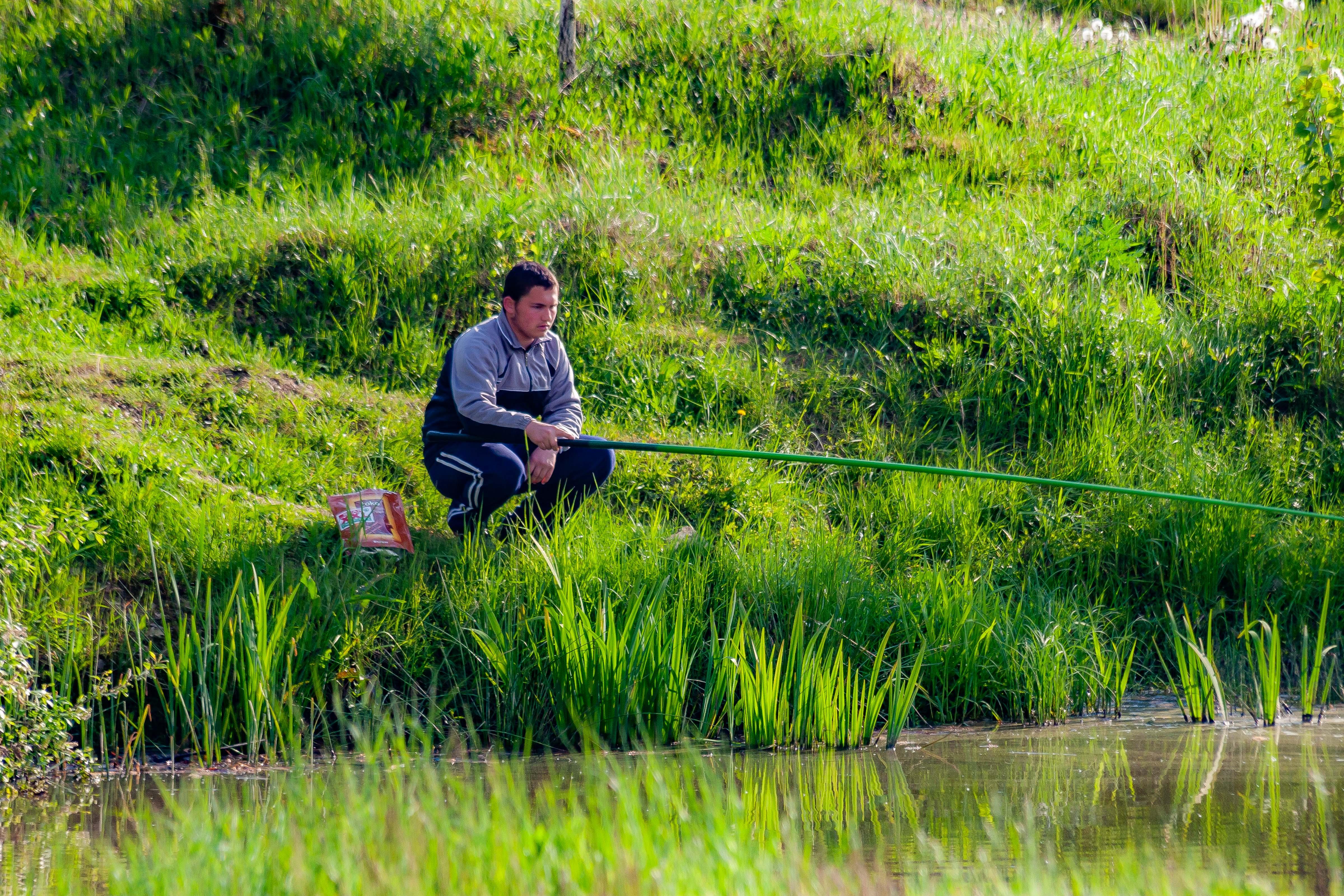 Slovenia, Kobilje Prov, Fishing, 2006, IMG 5235