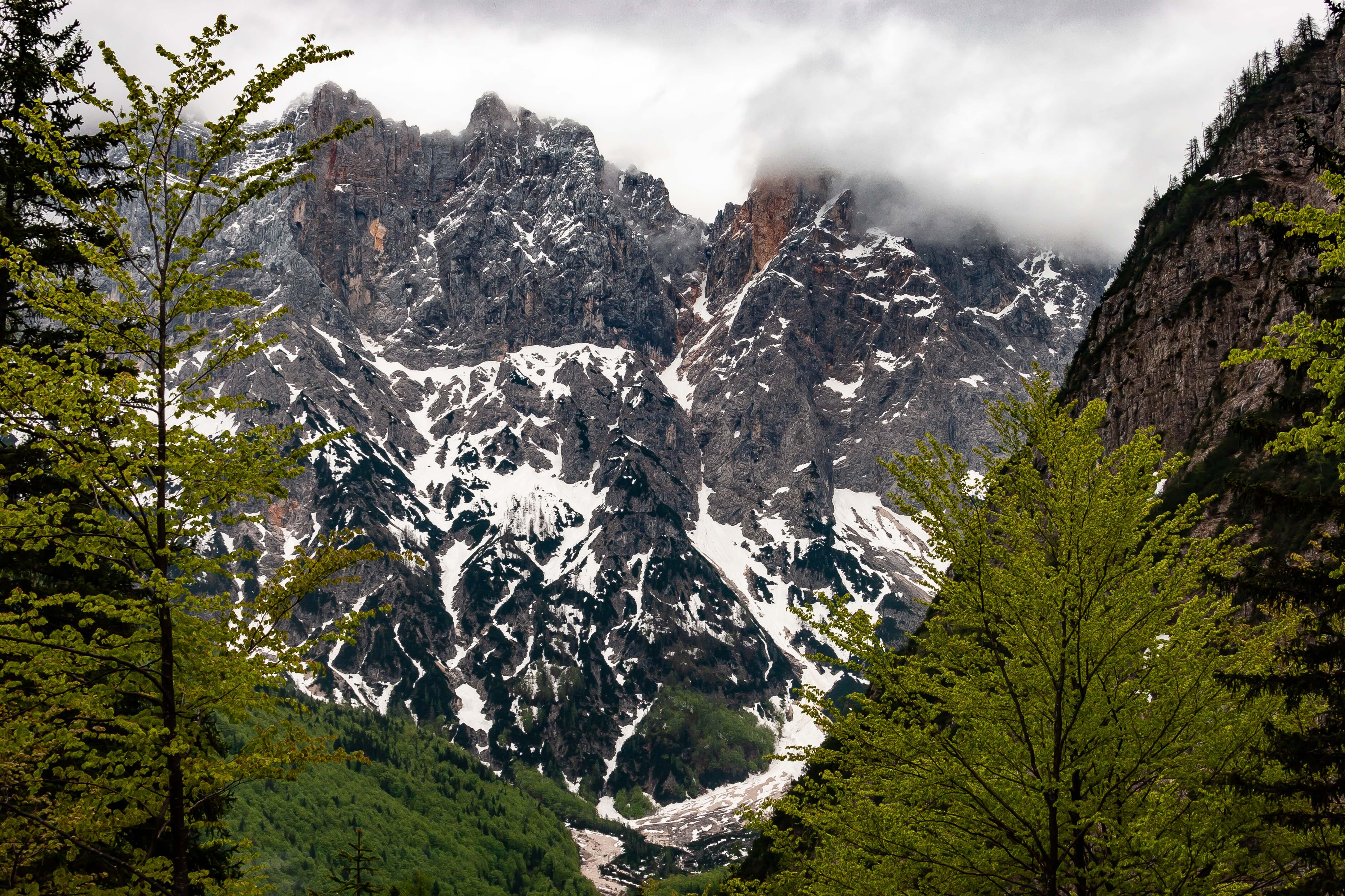 Slovenia, Kranjska Gora Prov, Mountain Scene, 2006, IMG 6499
