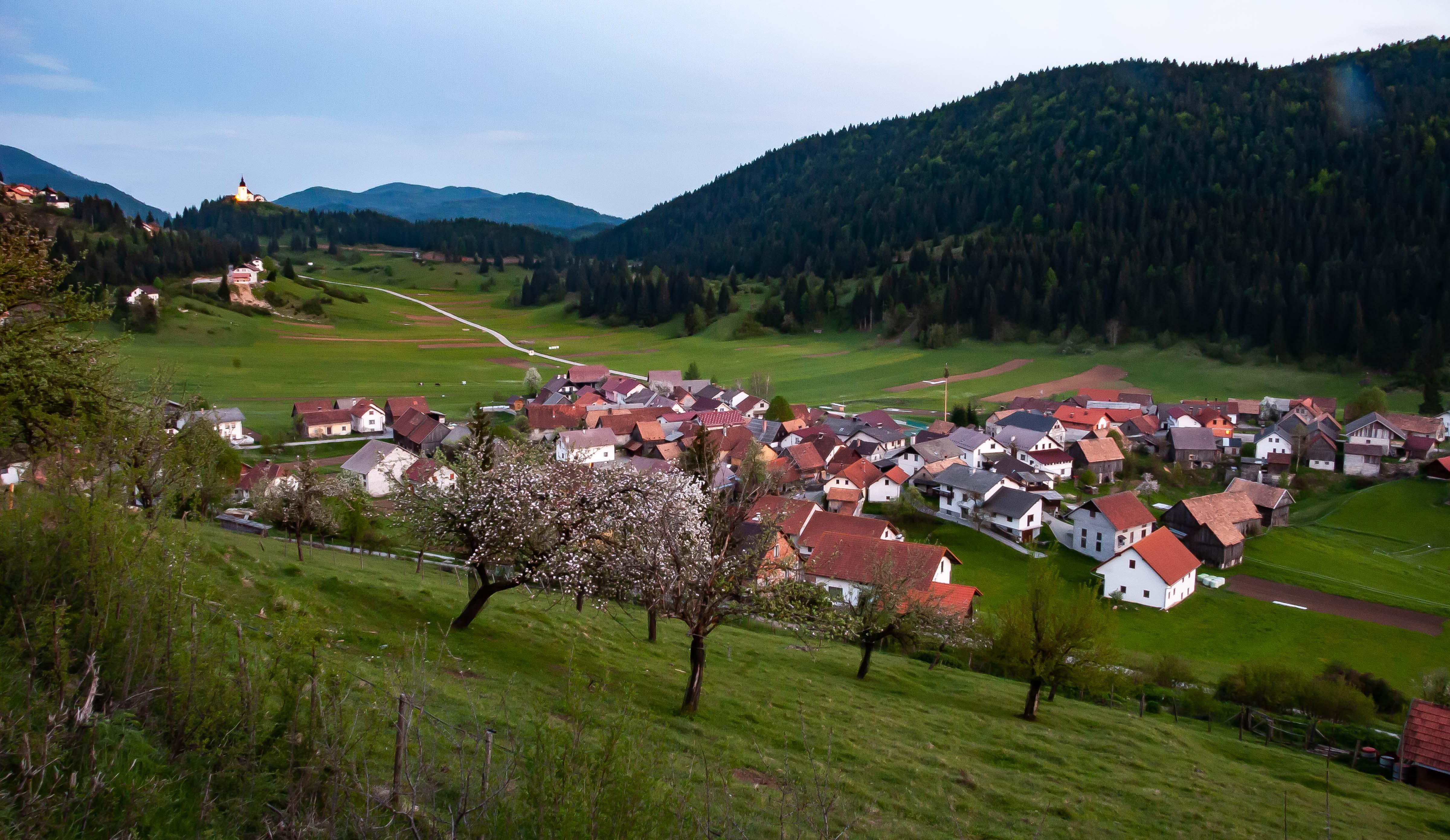 Slovenia, Loski Potok Prov, Village, 2006, IMG 7150