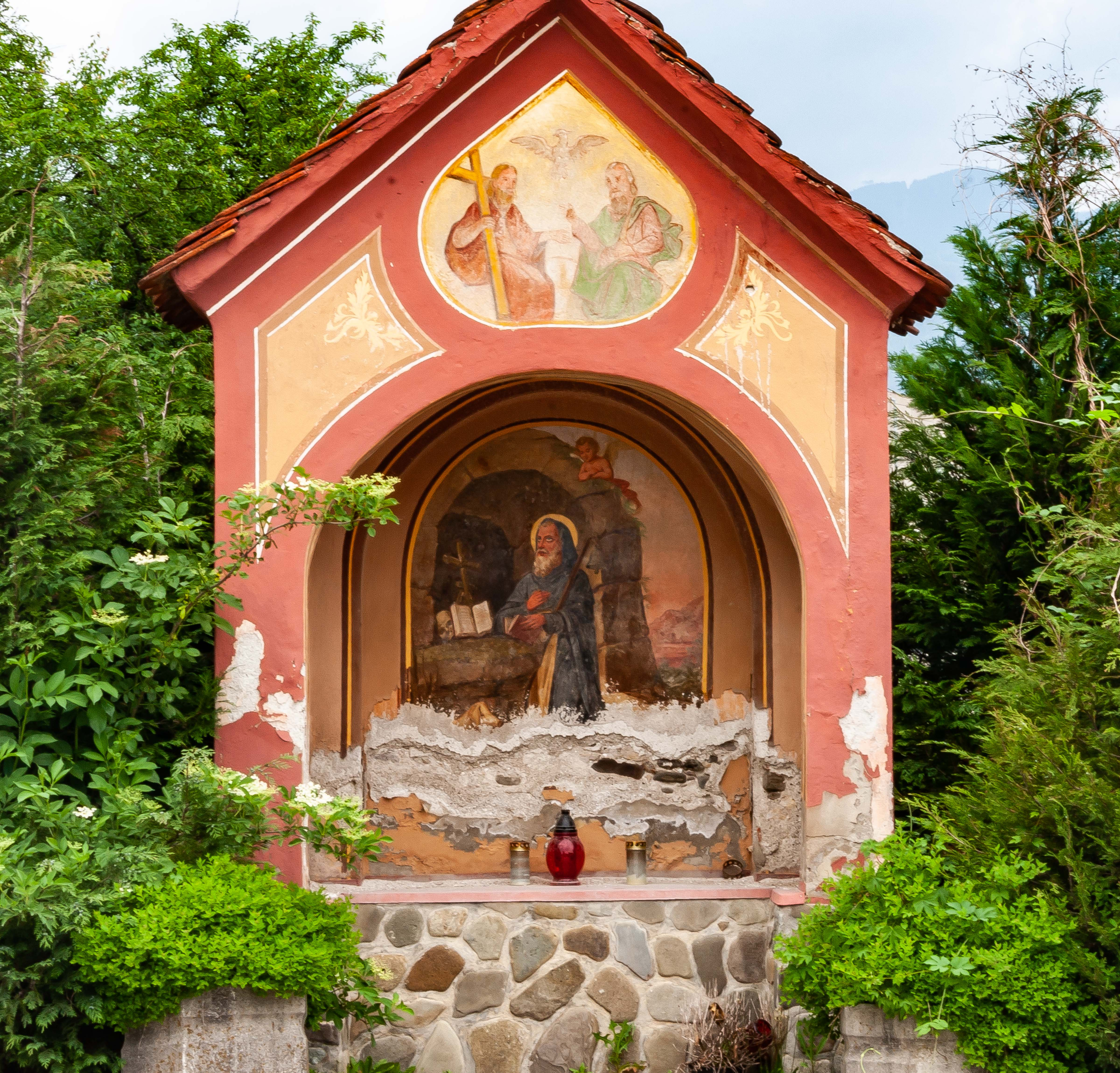 Slovenia, Nazarje Prov, Christian Shrine, 2006, IMG 8250