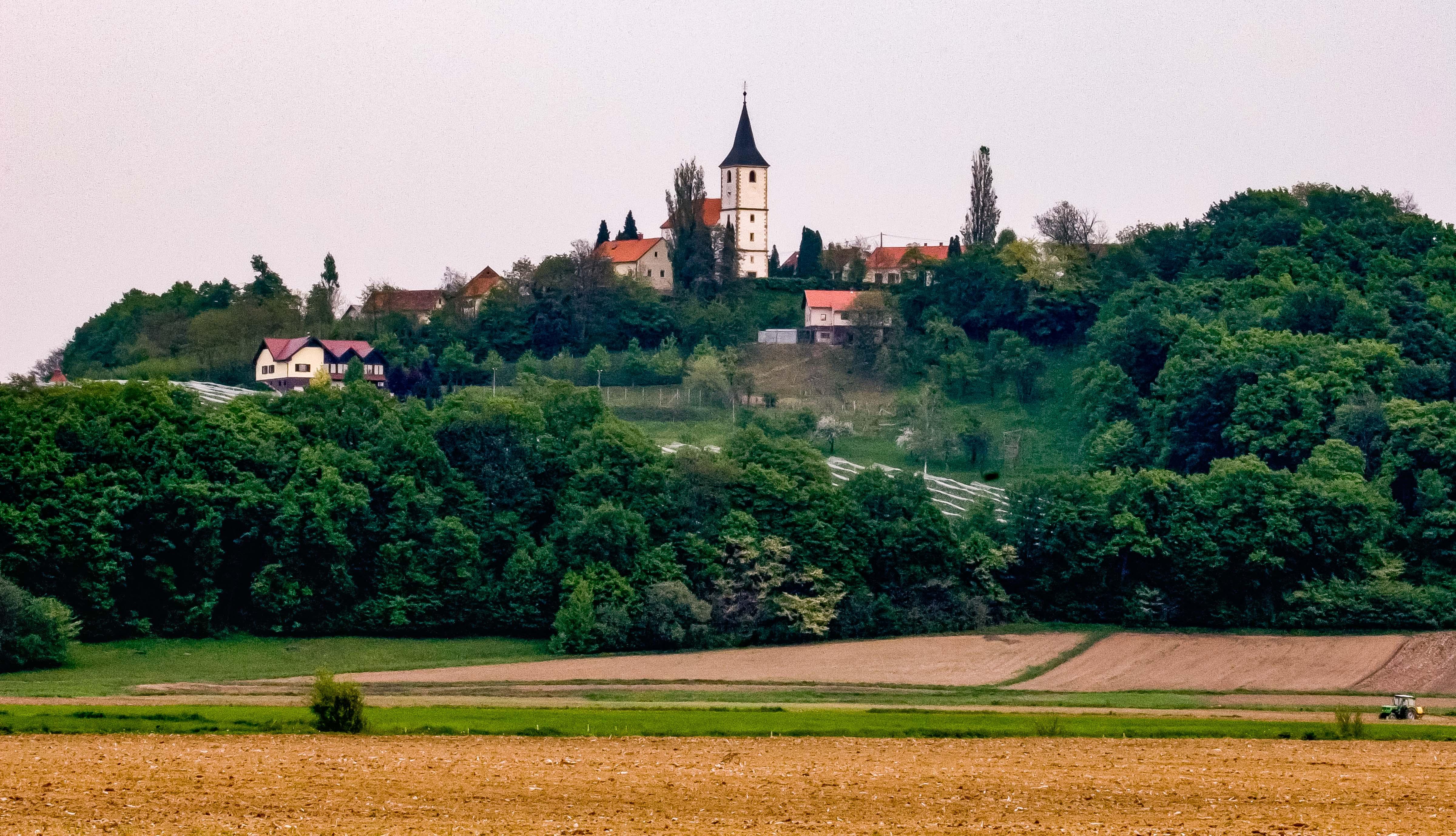 Slovenia, Sveti Andraz v Slovenskih Goricah Prov, Village, 2006, IMG 4945