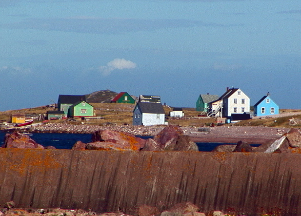 Saint Pierre and Miquelon, Village Houses, 2000