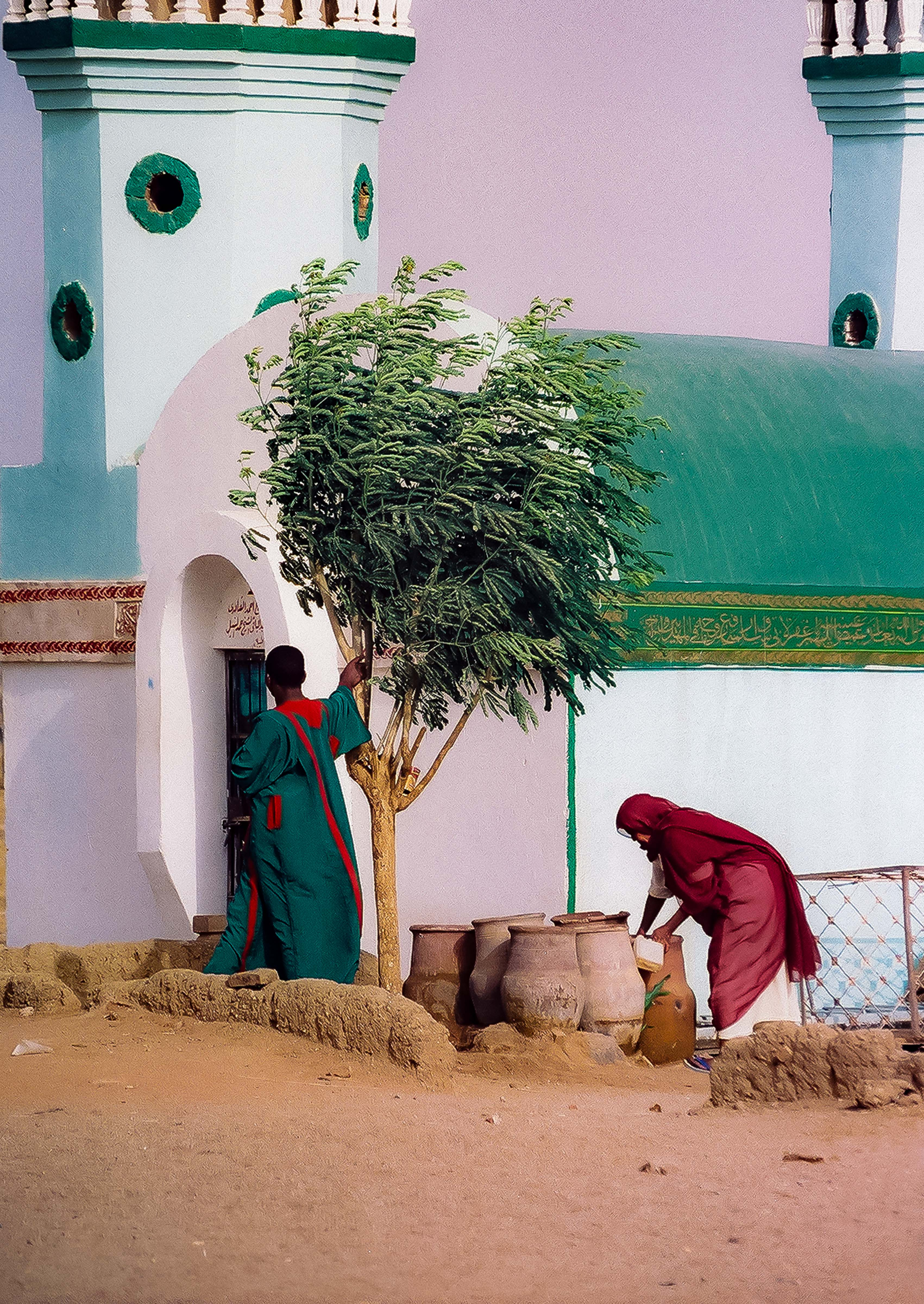 Sudan, Obdurman Mosque, 2002