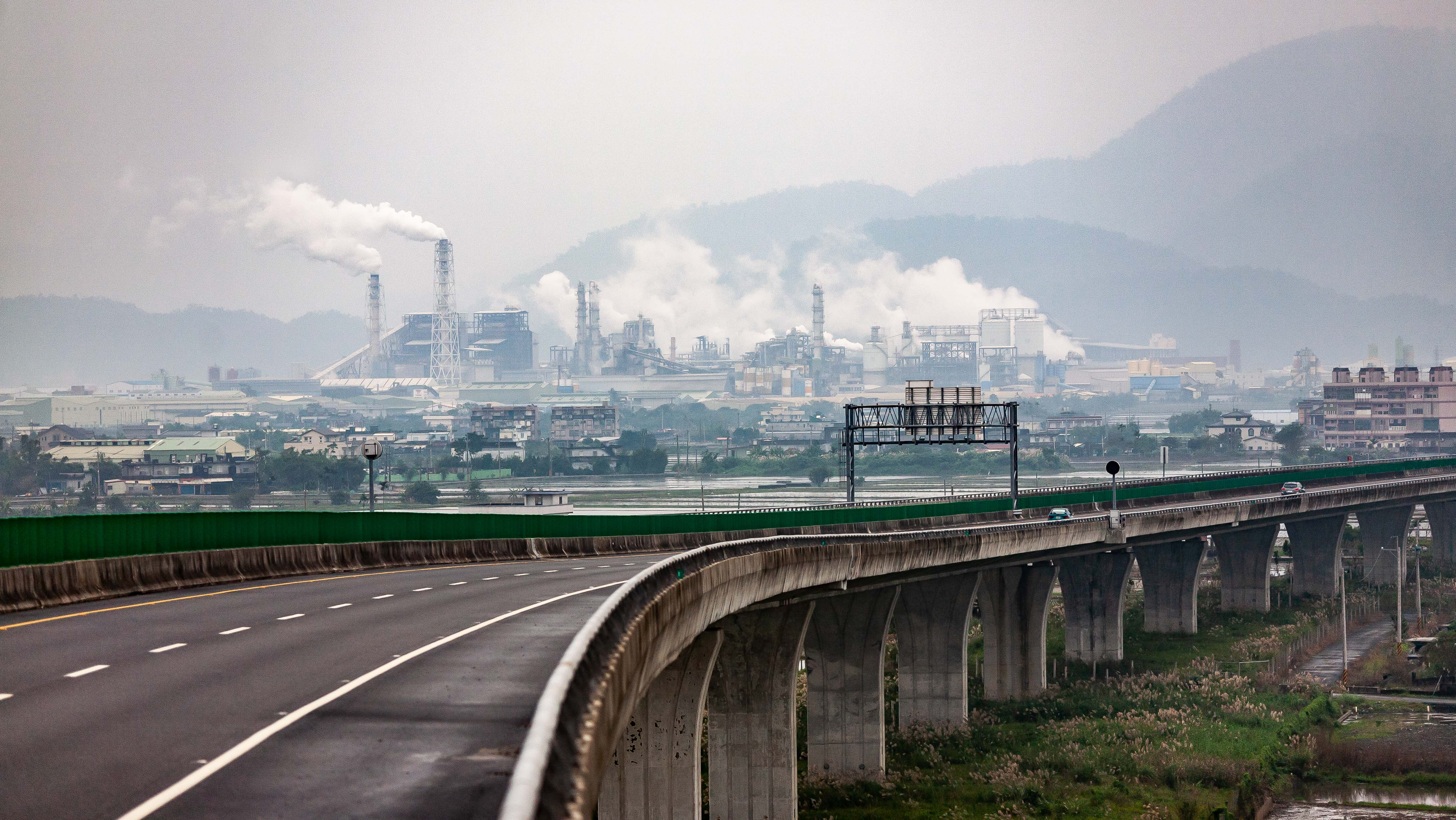 Taiwan, Ilan County Prov, Roadway Bridge, 2009, IMG 3629