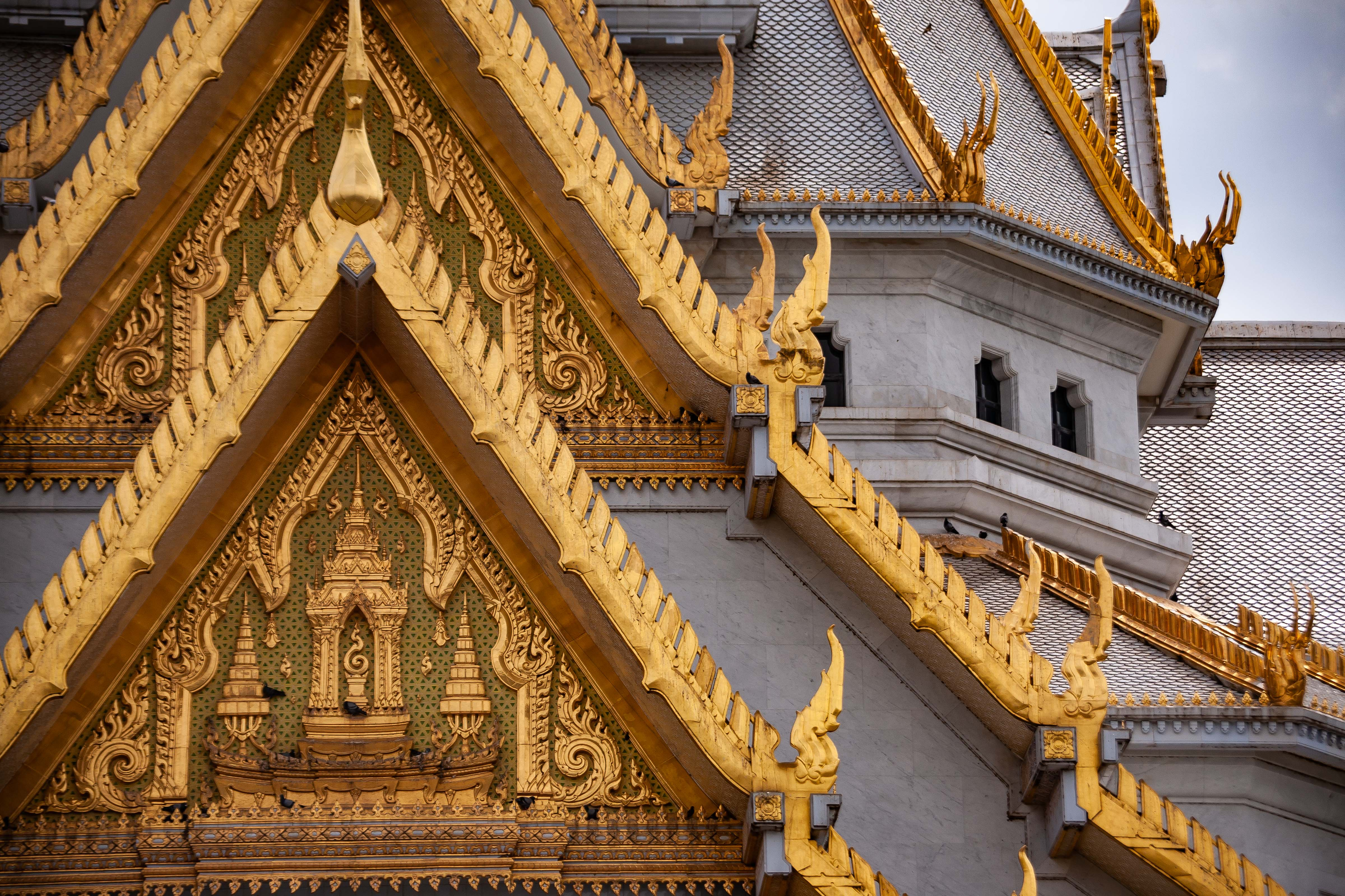 Thailand, Chachoengsao Prov, Temple Detail, 2008, IMG 9746