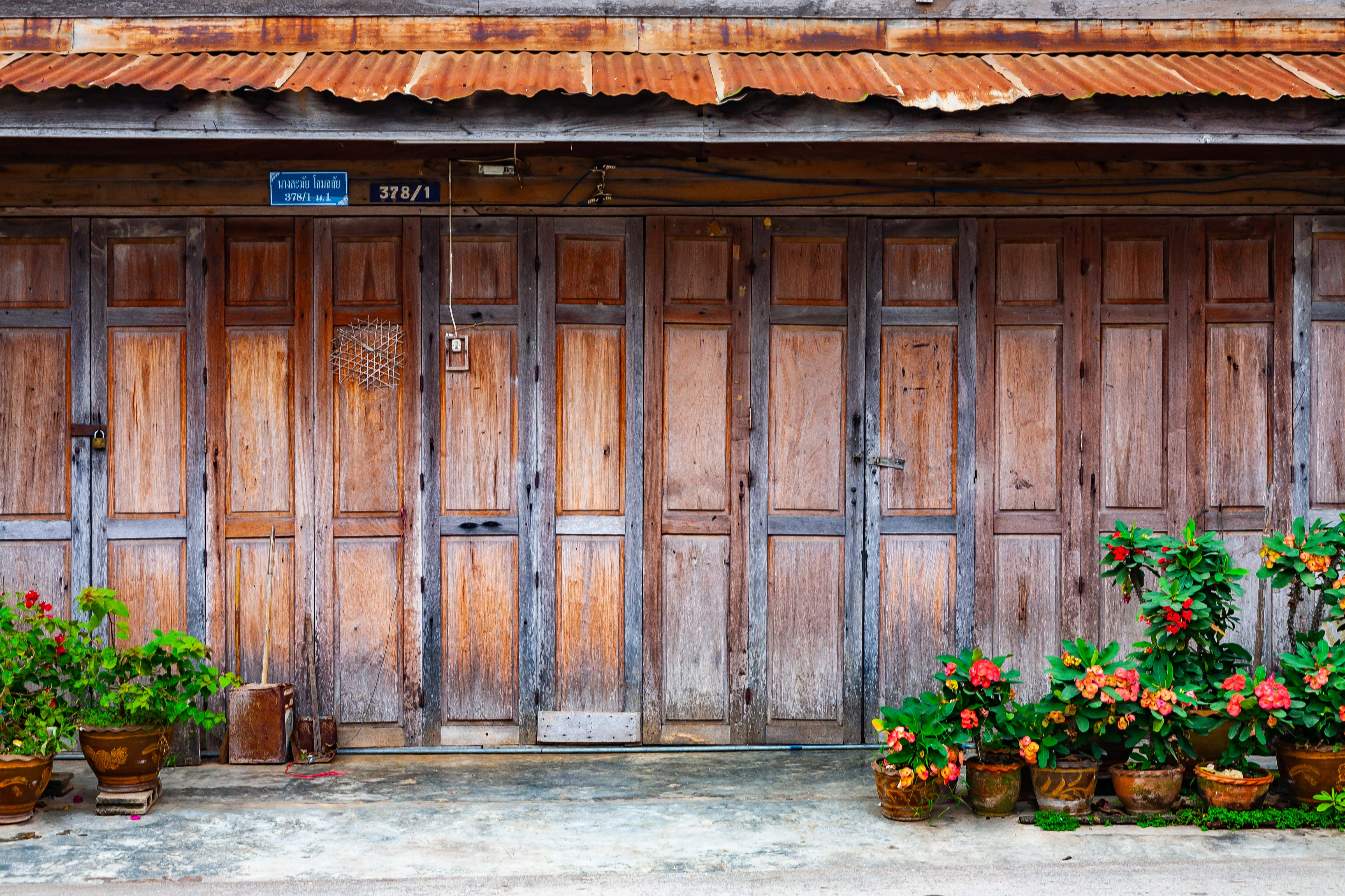 Thailand, Loei Prov, Chiang Khan Housefront, 2008, IMG 6415