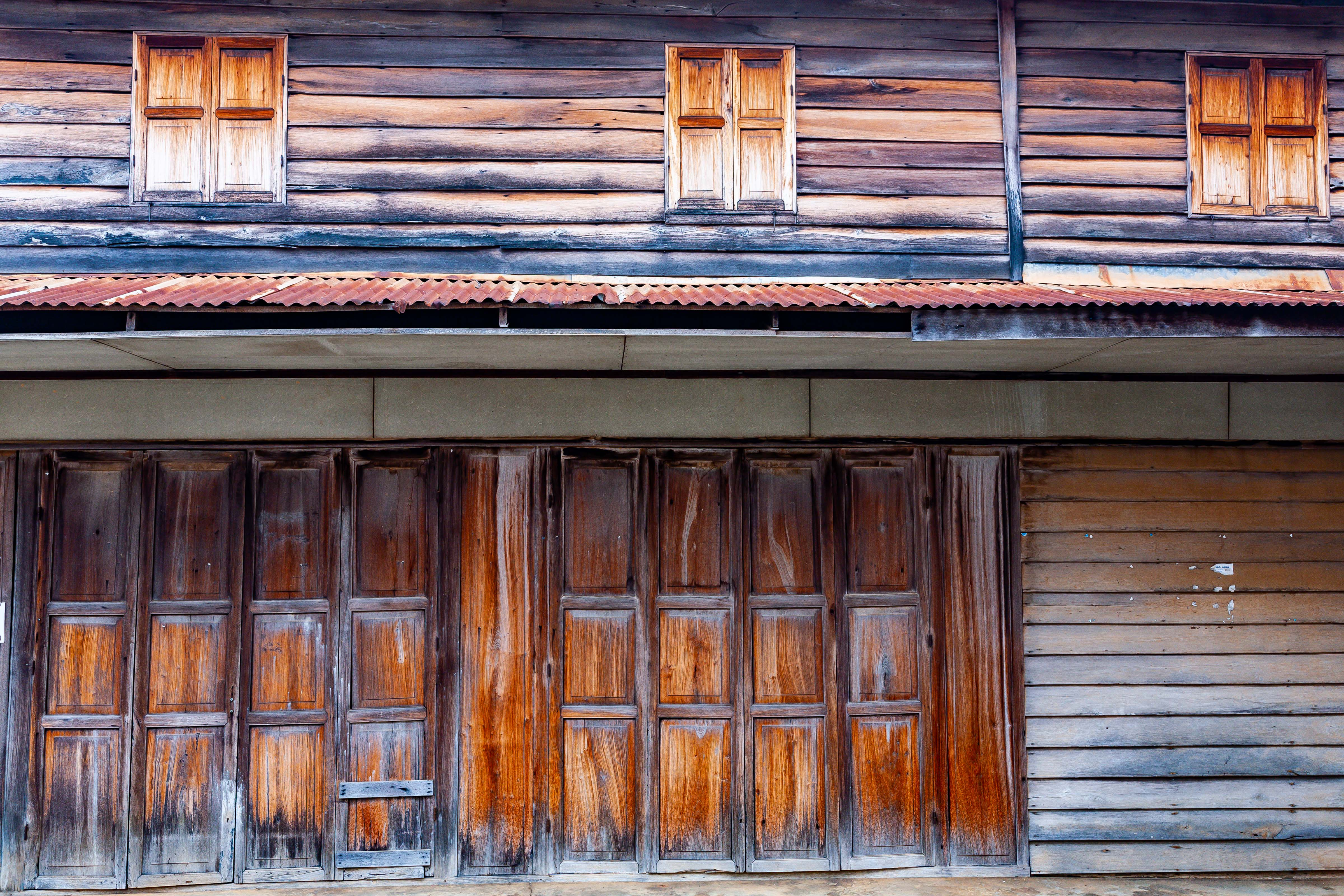 Thailand, Loei Prov, Chiang Khan Housefront, 2008, IMG 6419