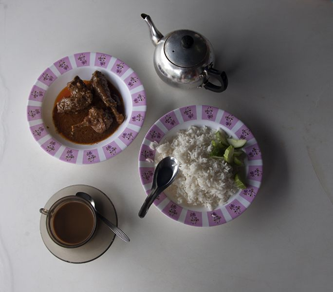 Thailand, Narathiwat Prov, Delicious Simple Meal, 2008, IMG 1625