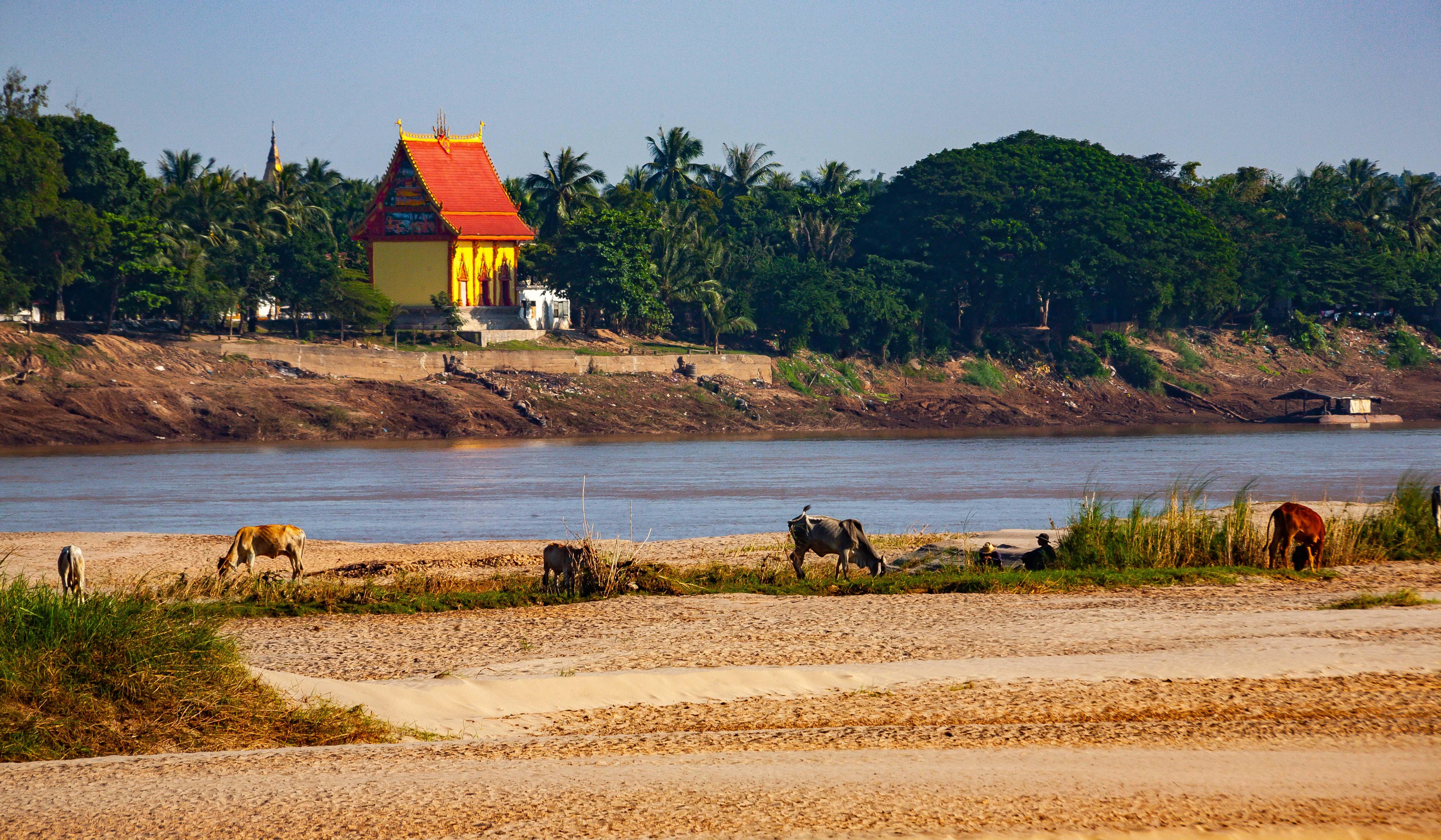 Thailand, Nong Khai Prov, River Scene, 2008, IMG 6341