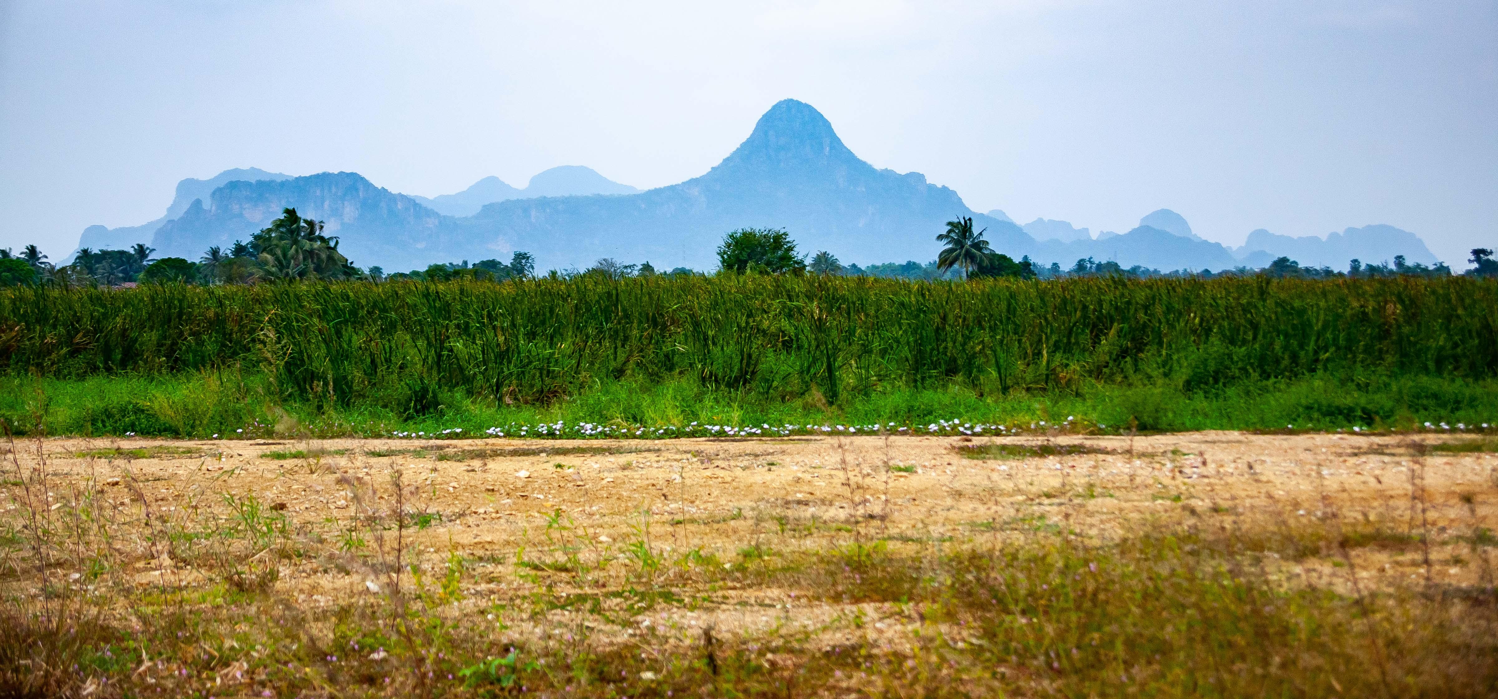 Thailand, Prachin Buri Prov, Hillscape, 2008, IMG 2833