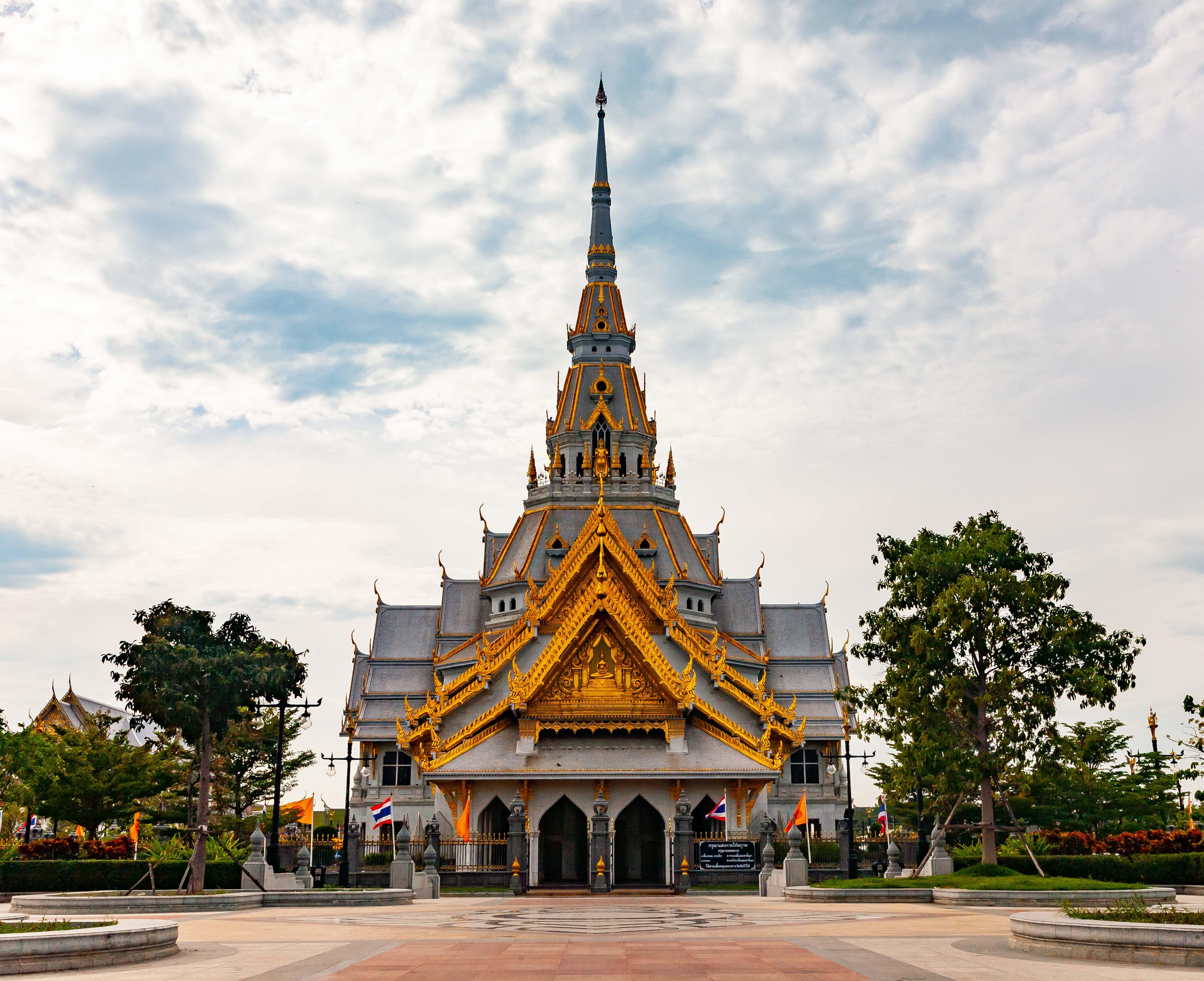 Thailand, Samut Sakon Prov, Temple, 2008, IMG 2859
