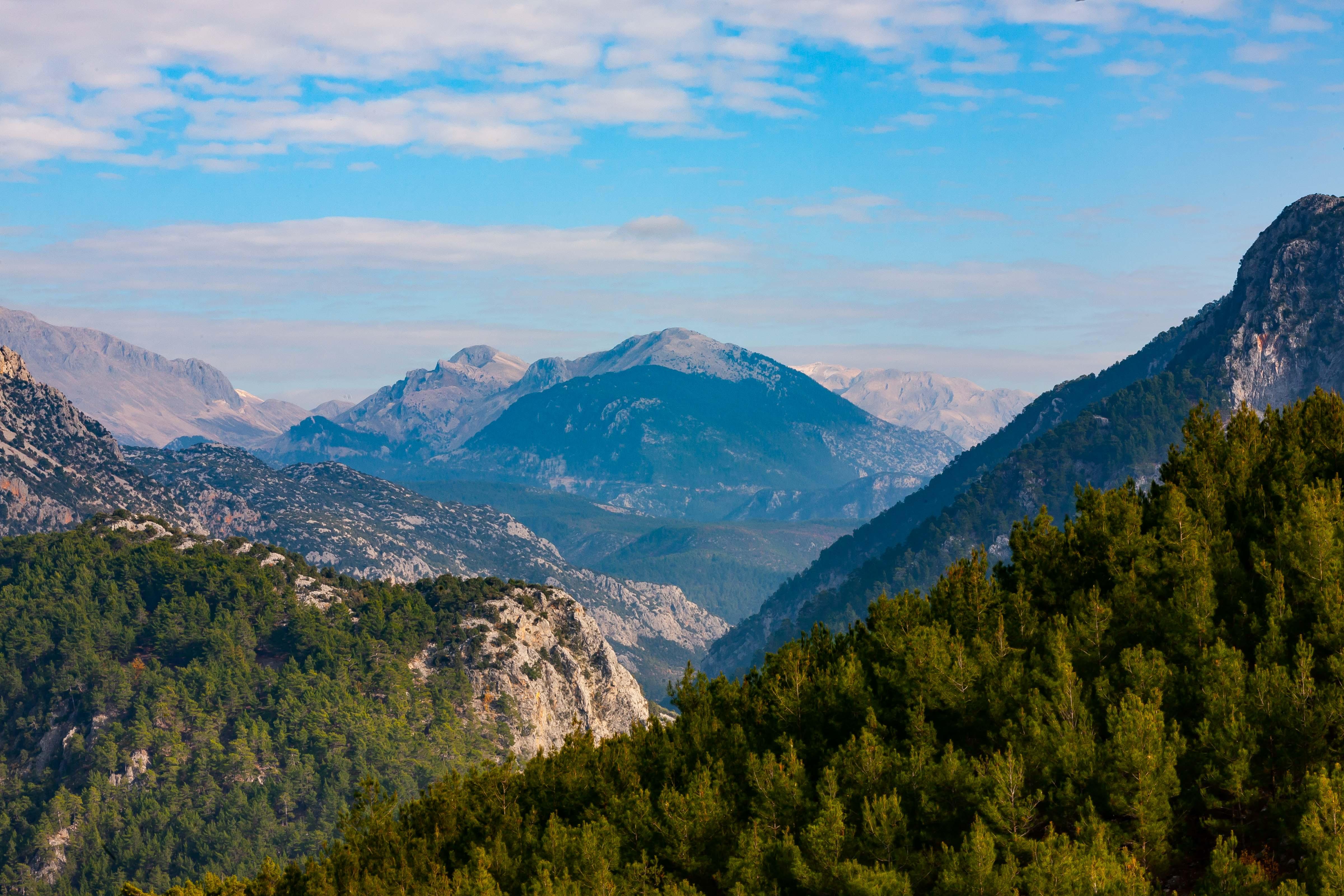 Turkey, Antalya Prov, Mountain Scene, 2009, IMG 1030