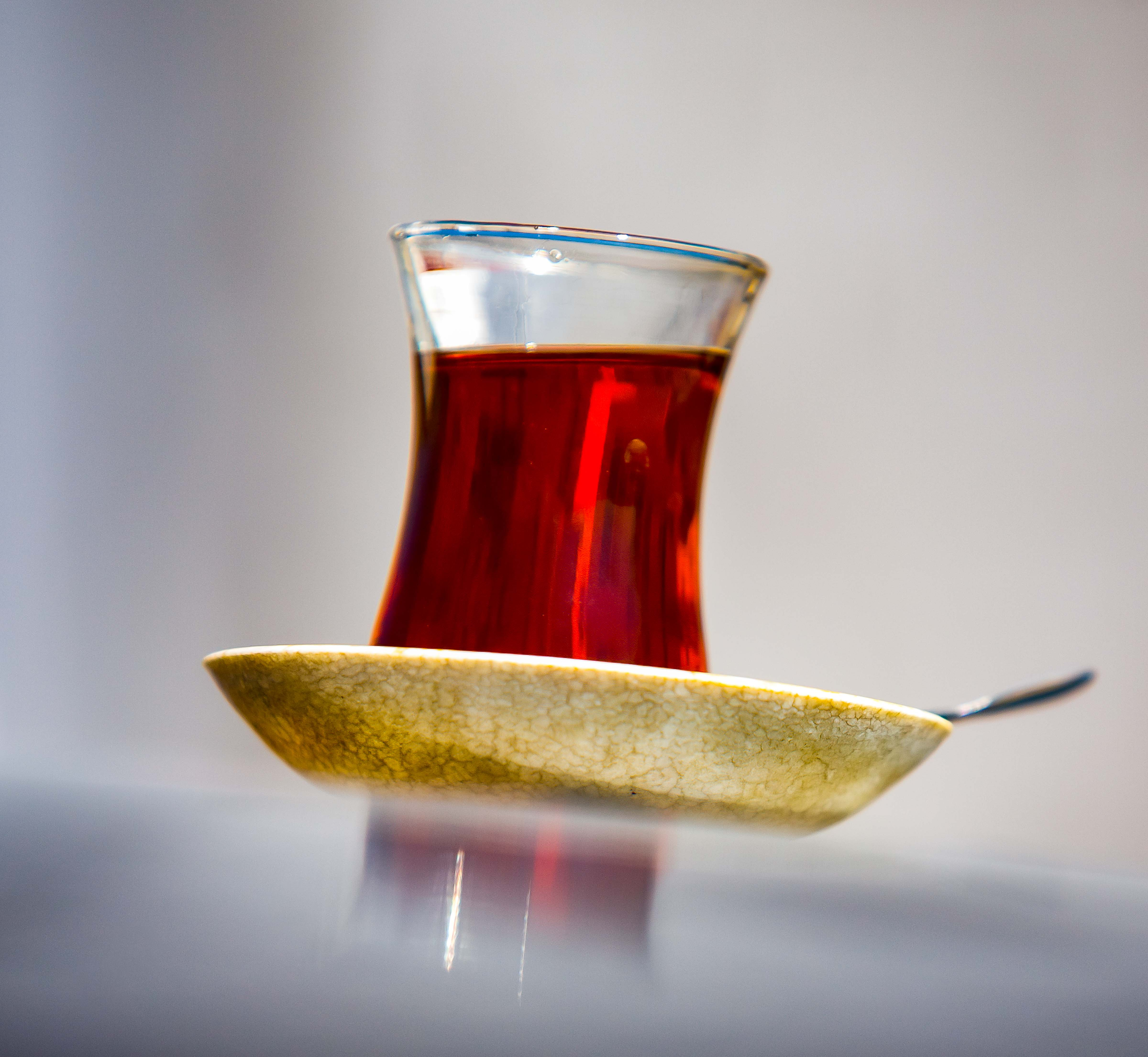 Turkey, Balikesir Province, Tea Offered At Gas Station, 2010, IMG 9925