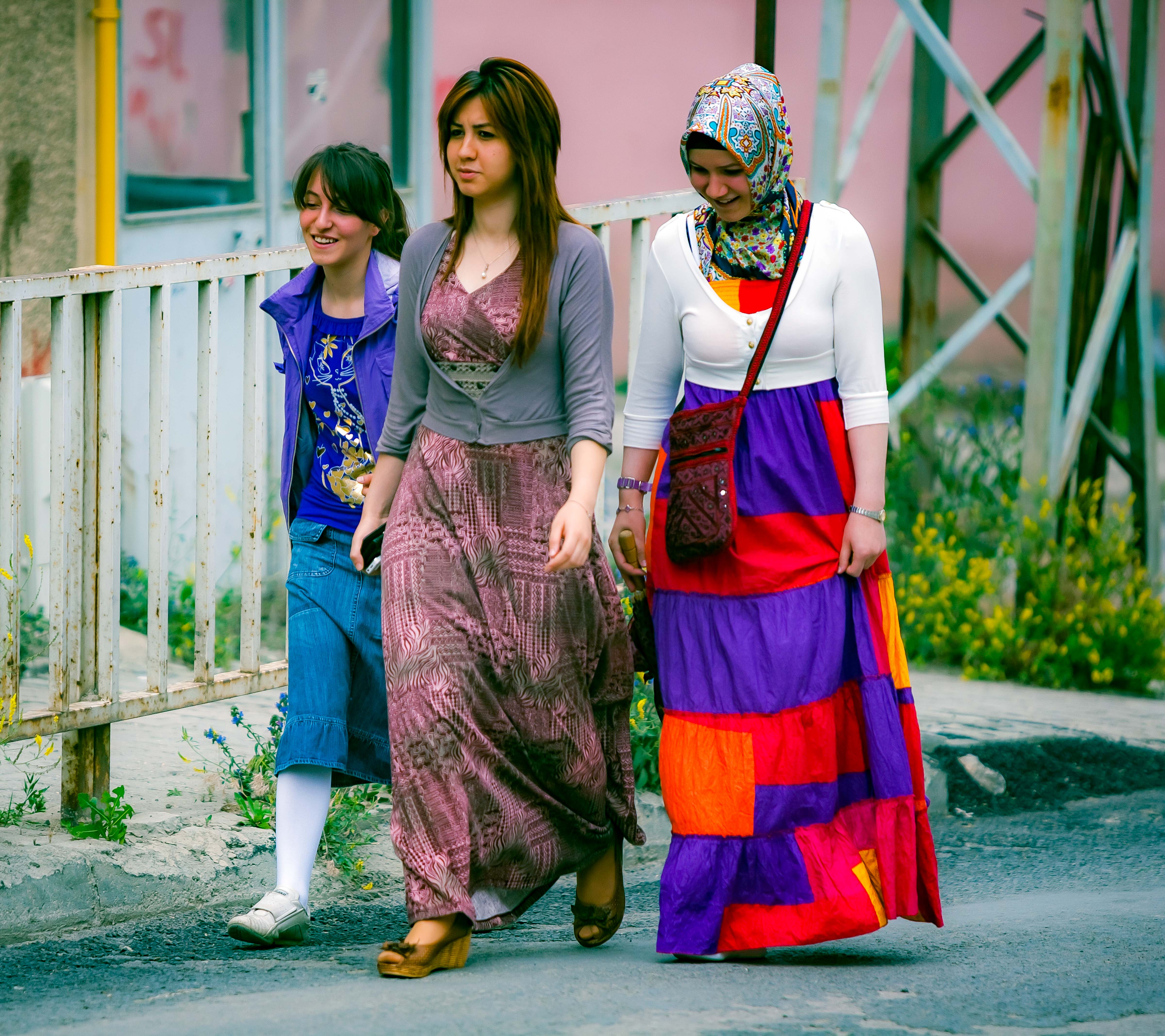 Turkey, Bayburt Prov, Three Women, 2010, IMG 7303