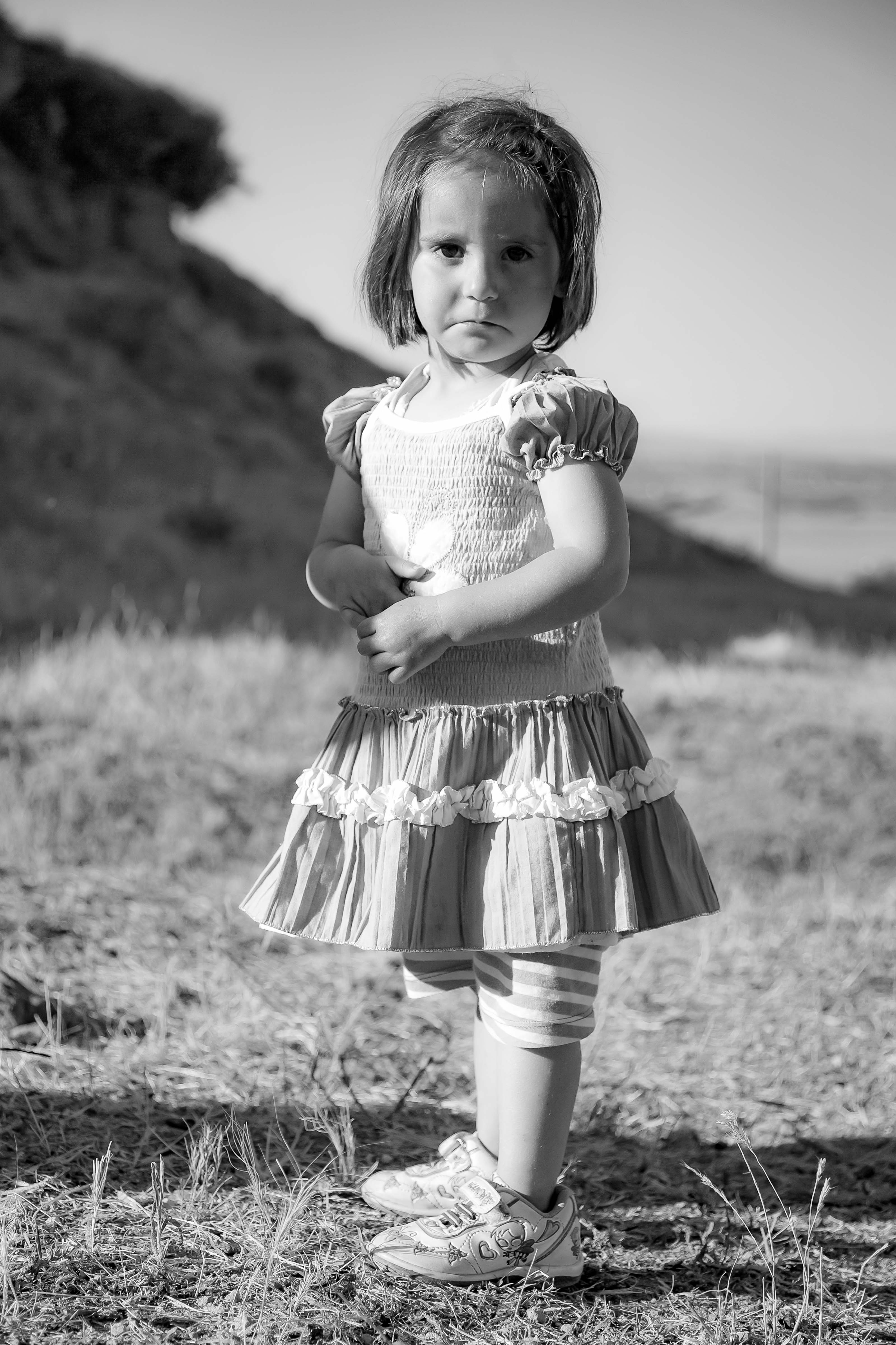 Turkey, Bitlis Prov, Sheep Camp Girl, 2010, IMG 8651