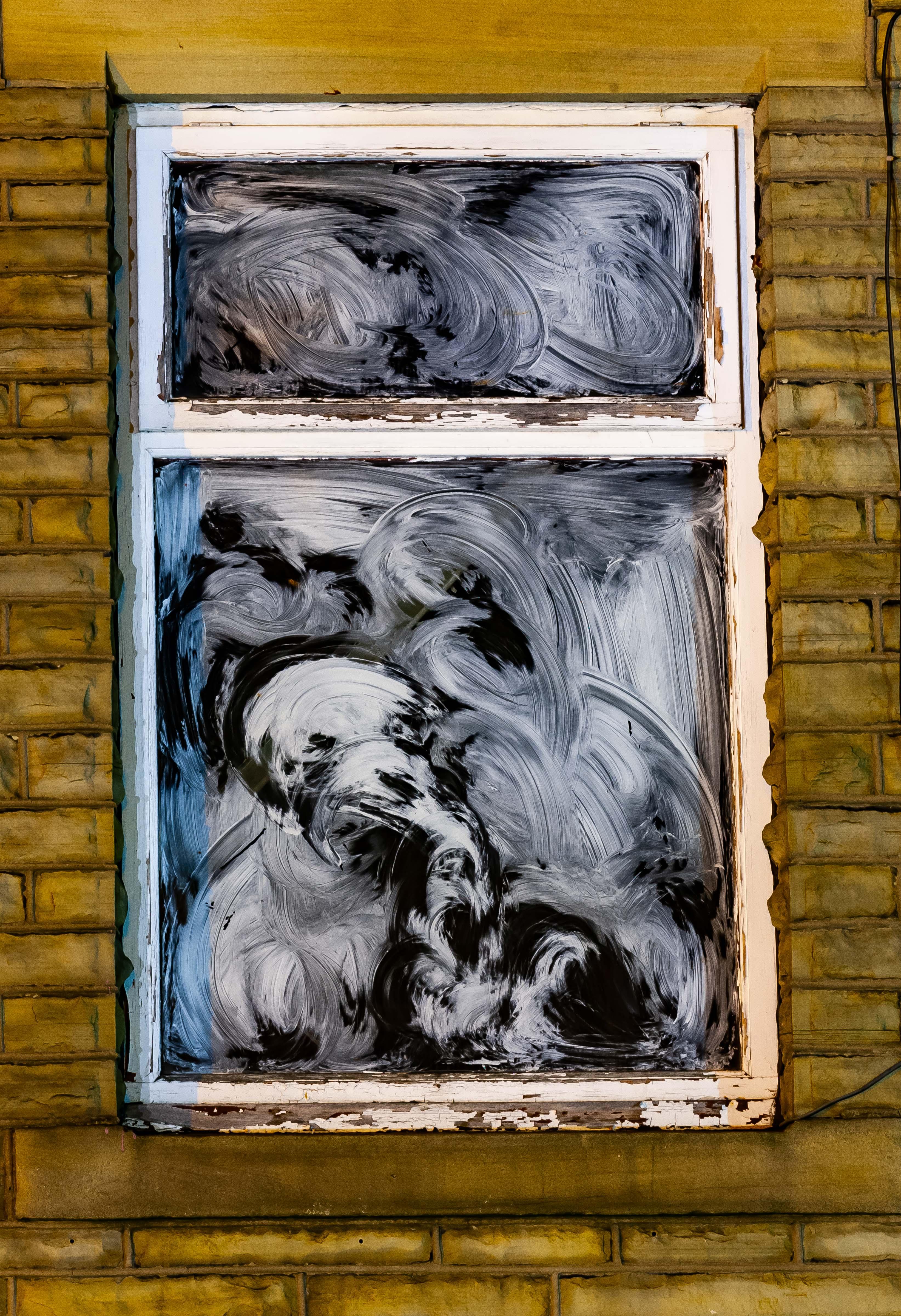 UK, Oldham Prov, Whitewashed Window, 2009, IMG 6899