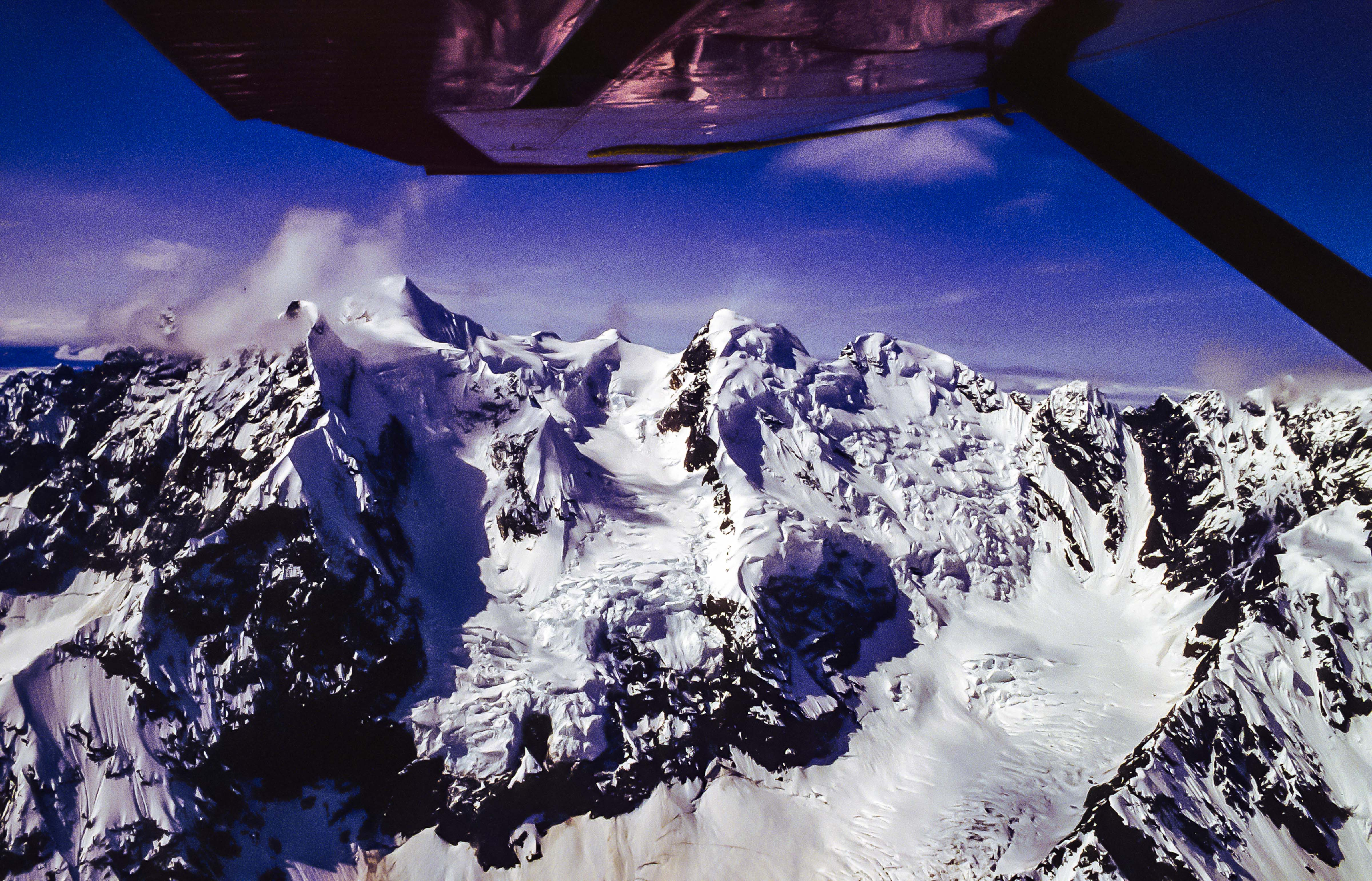 USA, Alaska, Flying To Denali, 1993