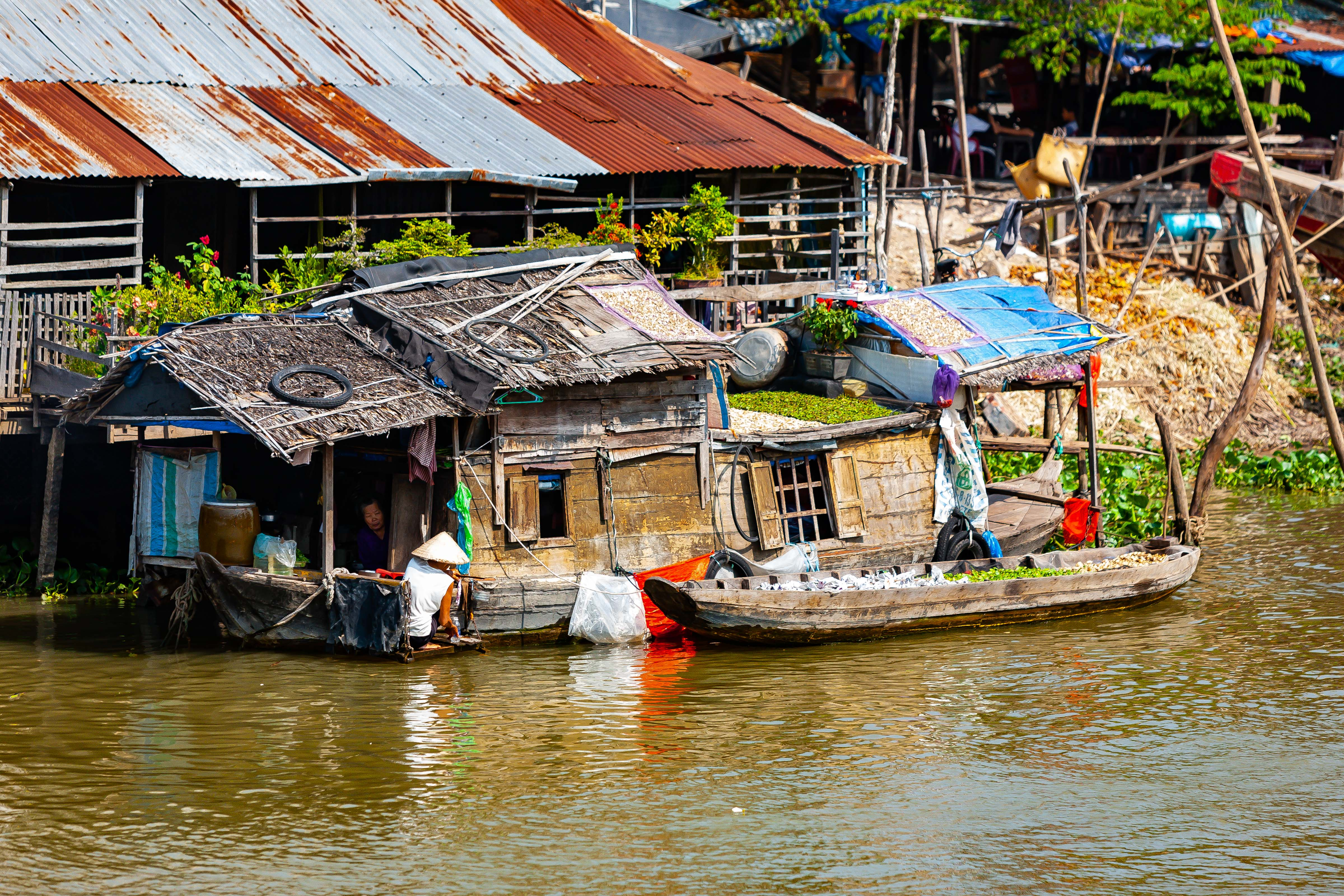 Vietnam, An Giang Prov, House Boat, 2010, IMG 1834